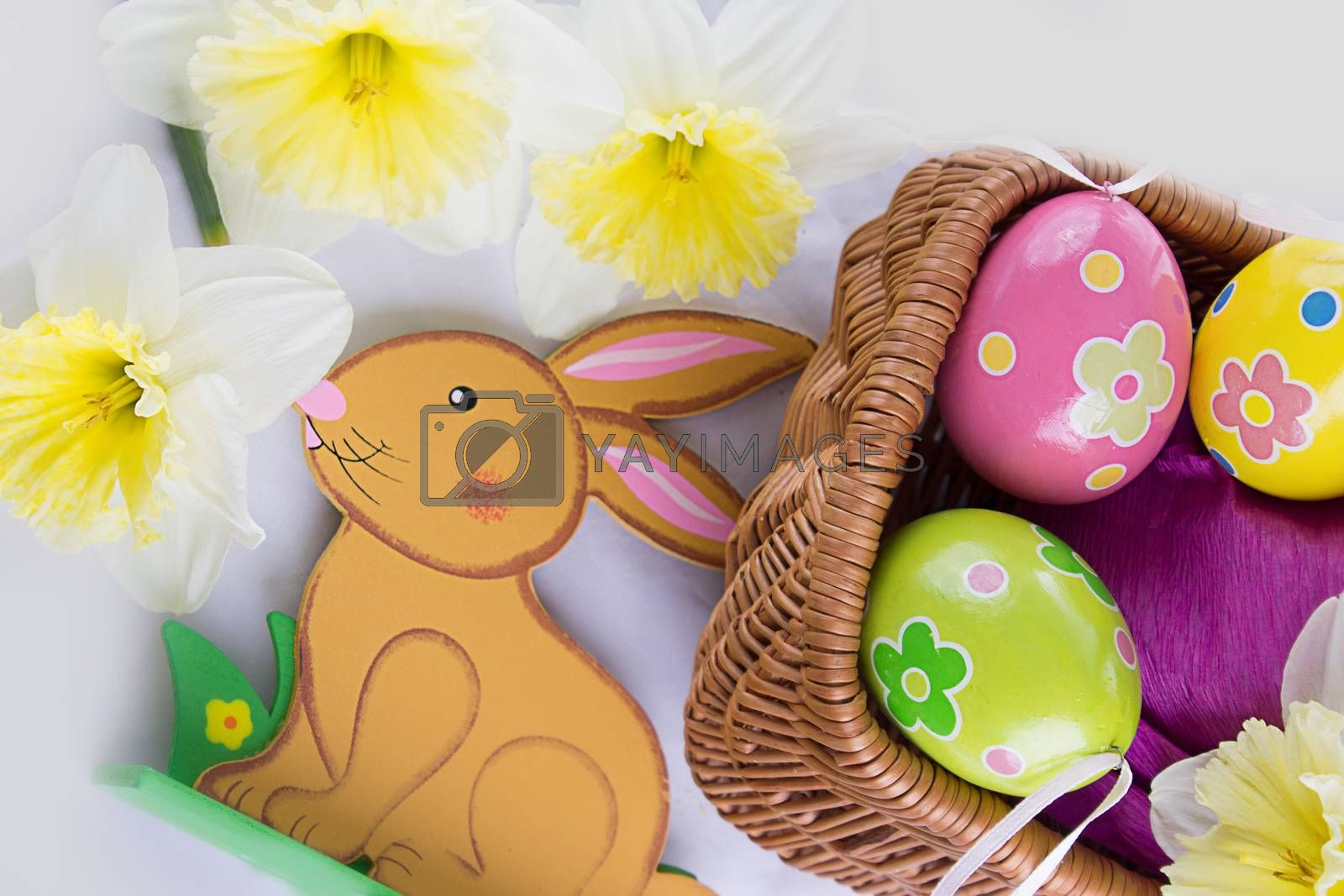 Royalty free image of Easter decor by Angel_a