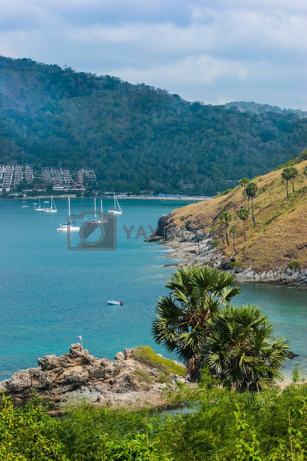 Royalty free image of Beautiful view of Phuket island by oleg_zhukov