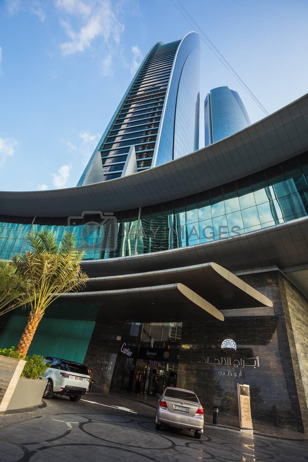 Royalty free image of Skyscrapers in Abu Dhabi, UAE by oleg_zhukov
