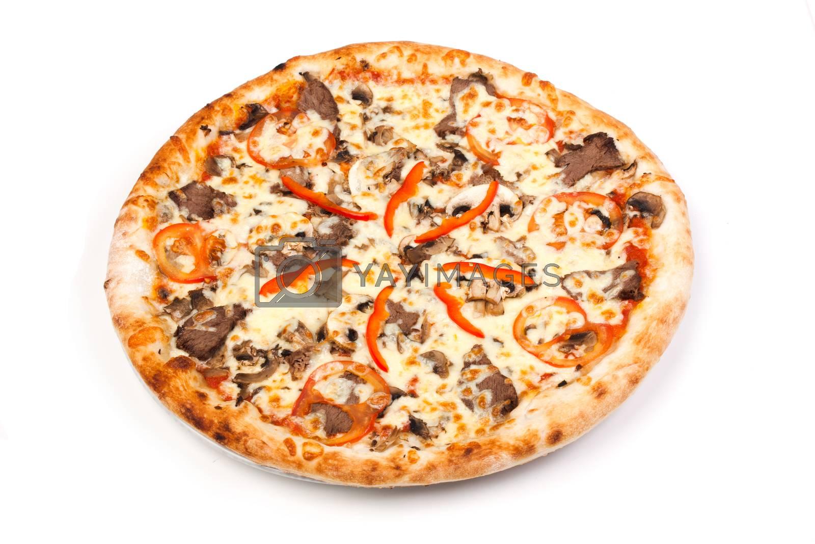 Royalty free image of Italian pizza by oleg_zhukov