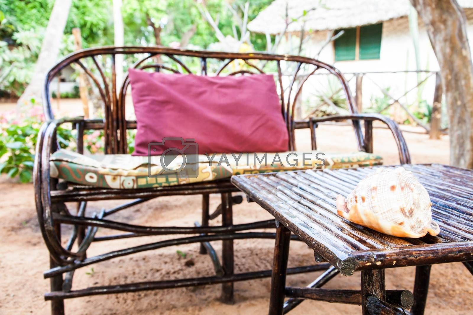 Royalty free image of Garden Furniture by Perseomedusa