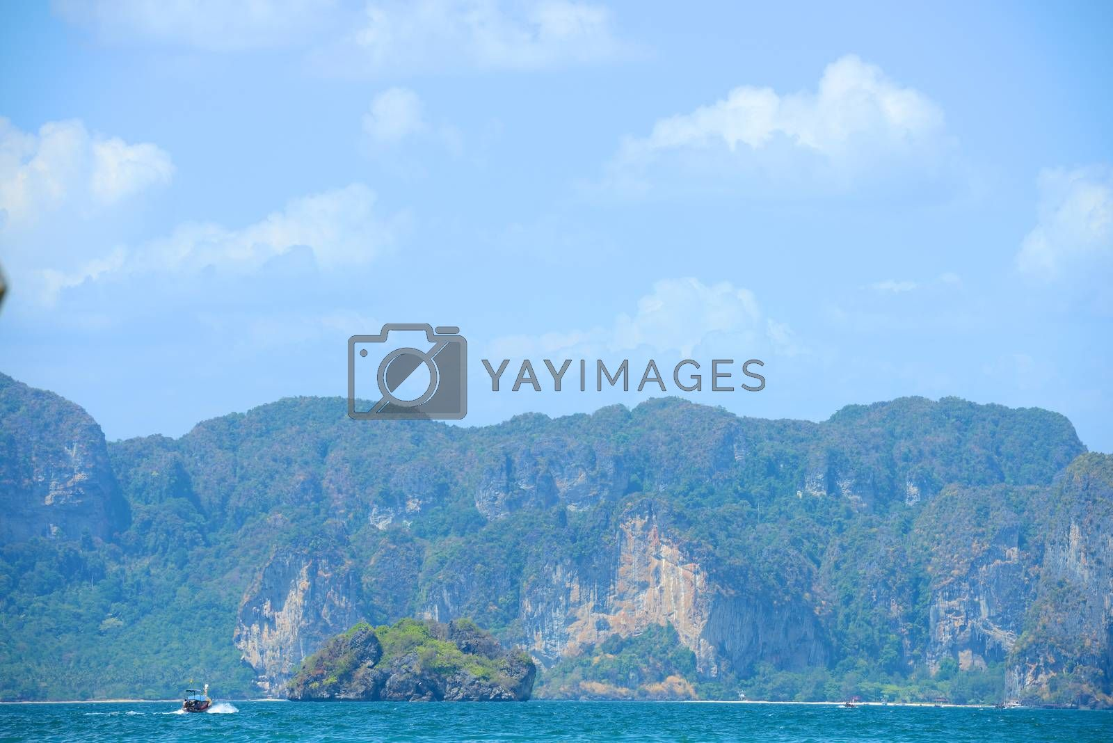 Royalty free image of Maya Beach by antpkr