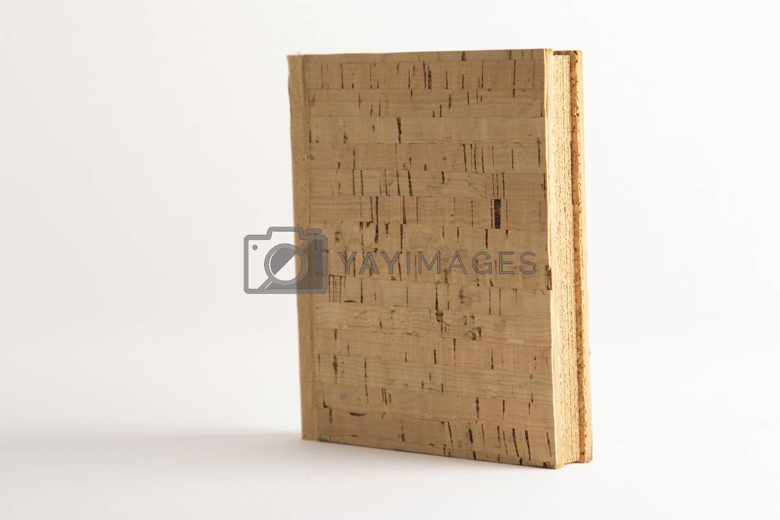 Blank vintage cork book by paocasa