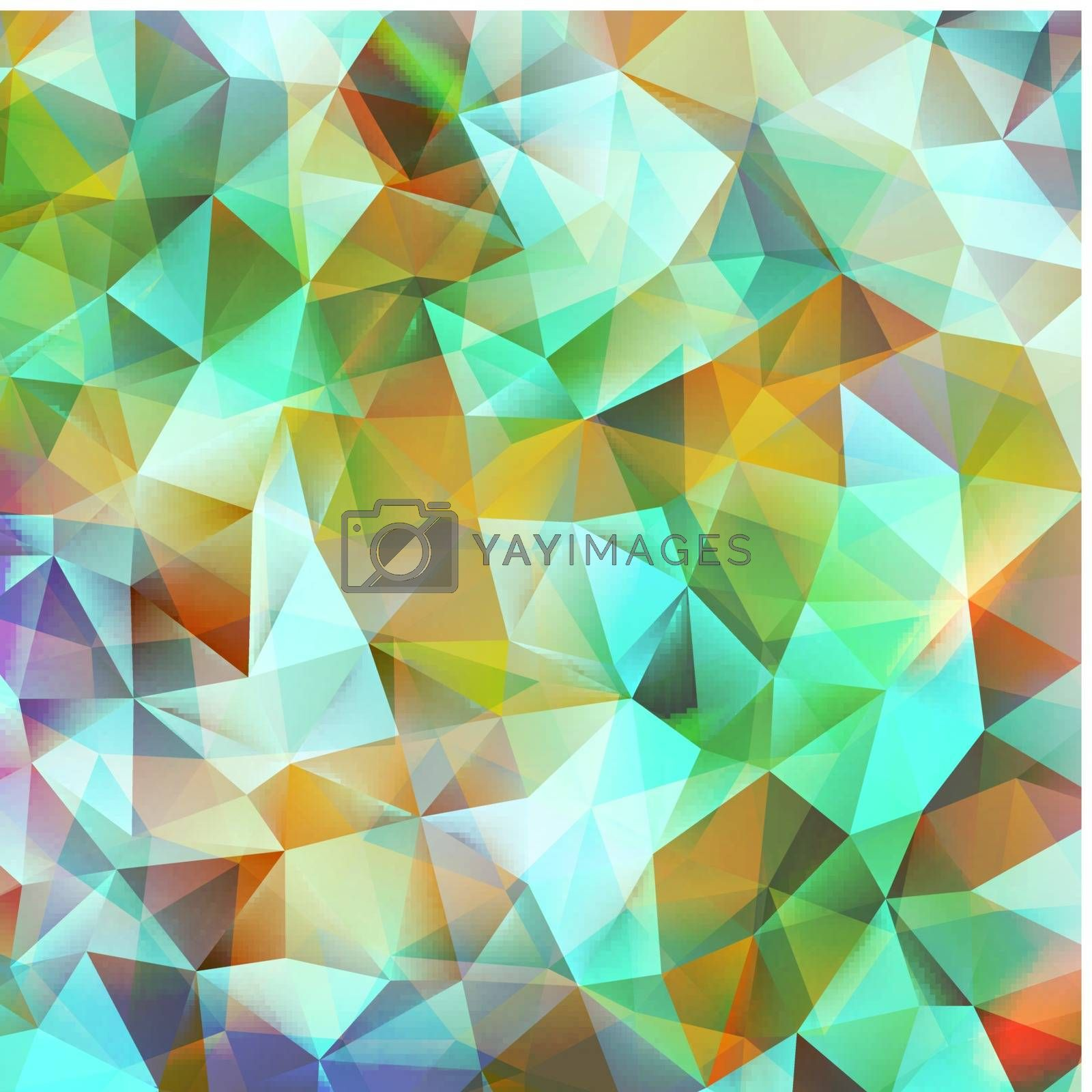 Abstract green and pink. EPS 10 vector file included