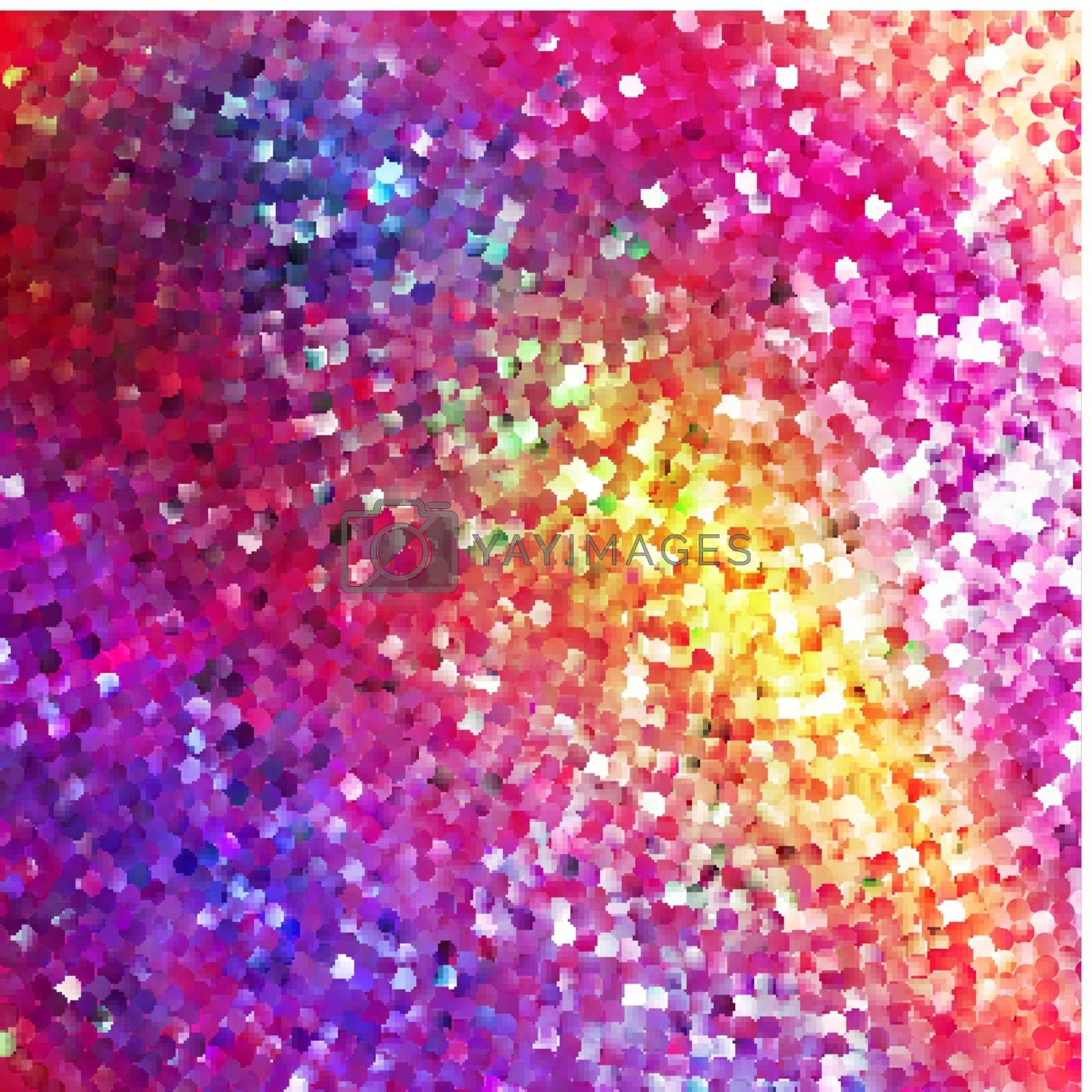 Amazing template design on red glittering background. EPS 10 vector file included