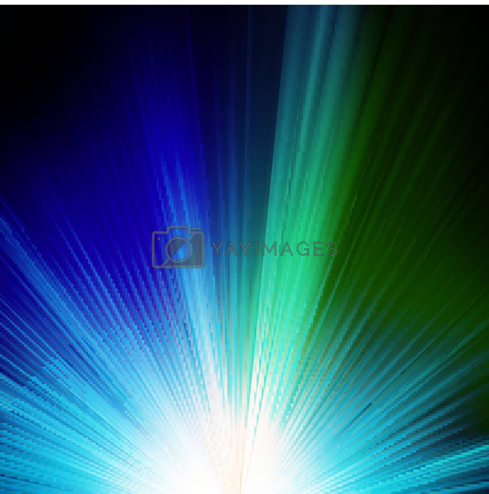 Abstract blue background. EPS 10 vector file included