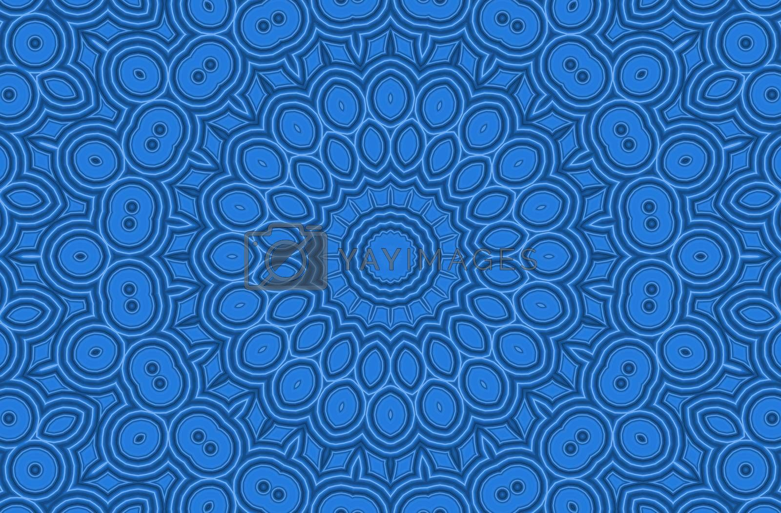 Royalty free image of Background with abstract pattern by dink101