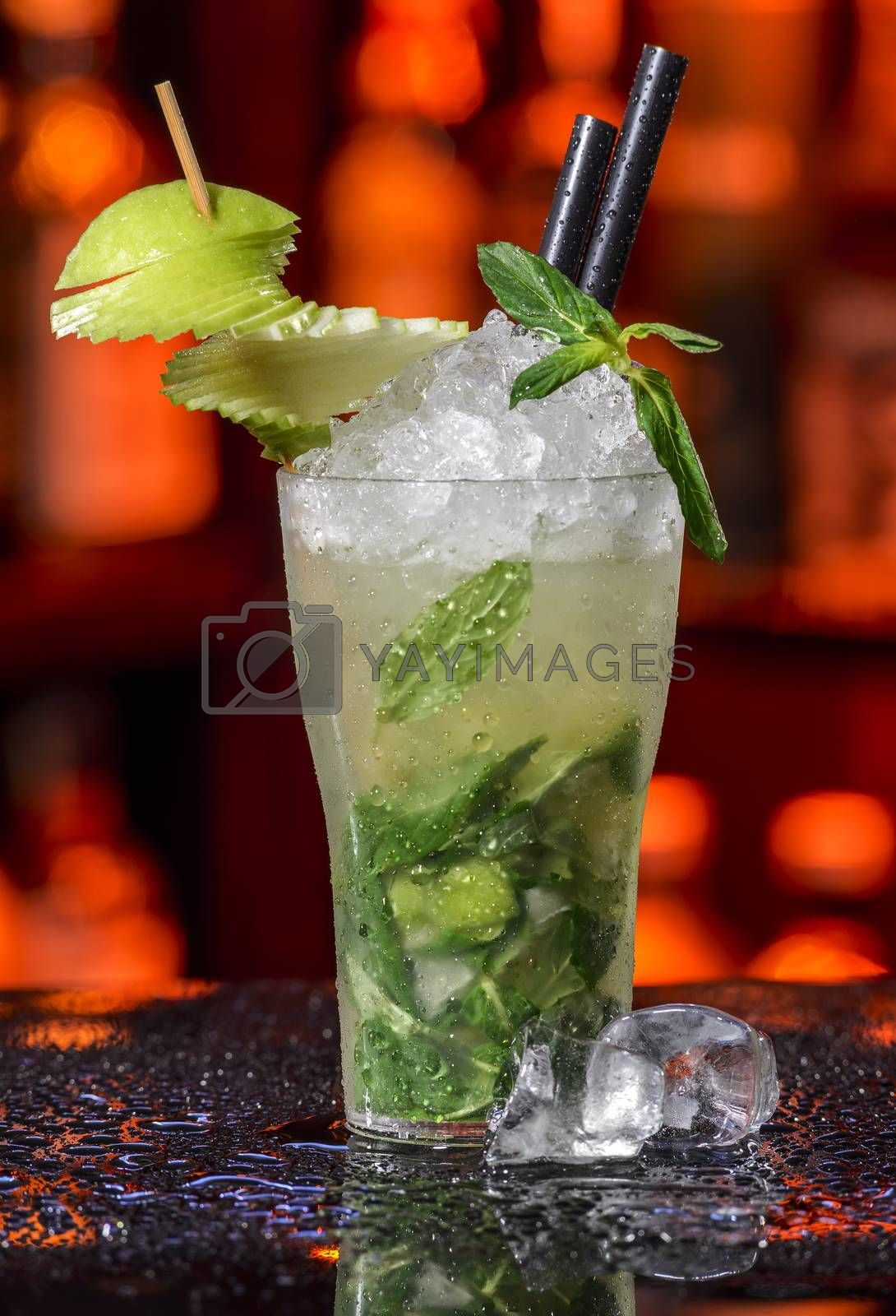 Royalty free image of Pear mojitos by emirkoo
