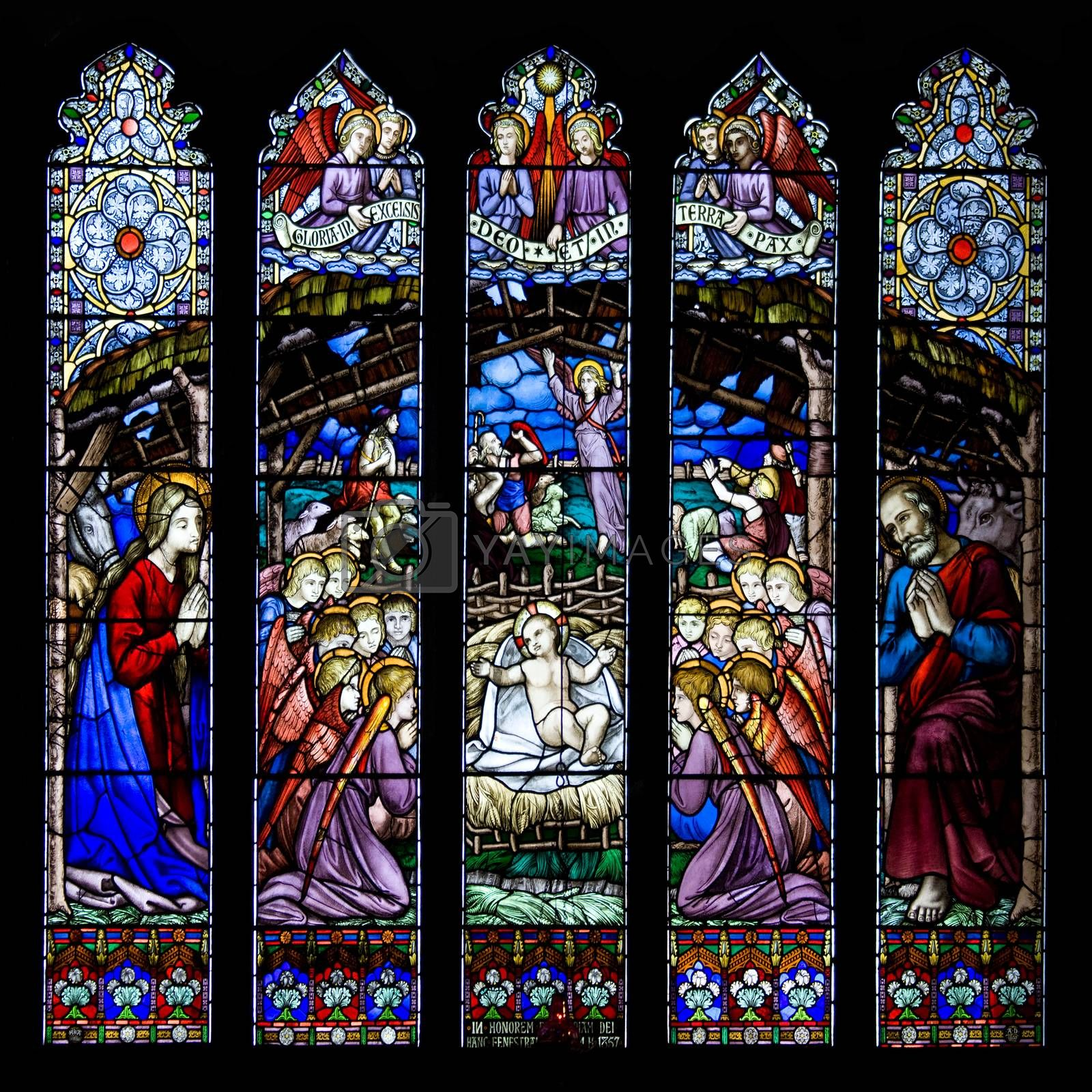 Royalty free image of Westminster Window - Chester Cathedral - UK by SteveAllenPhoto