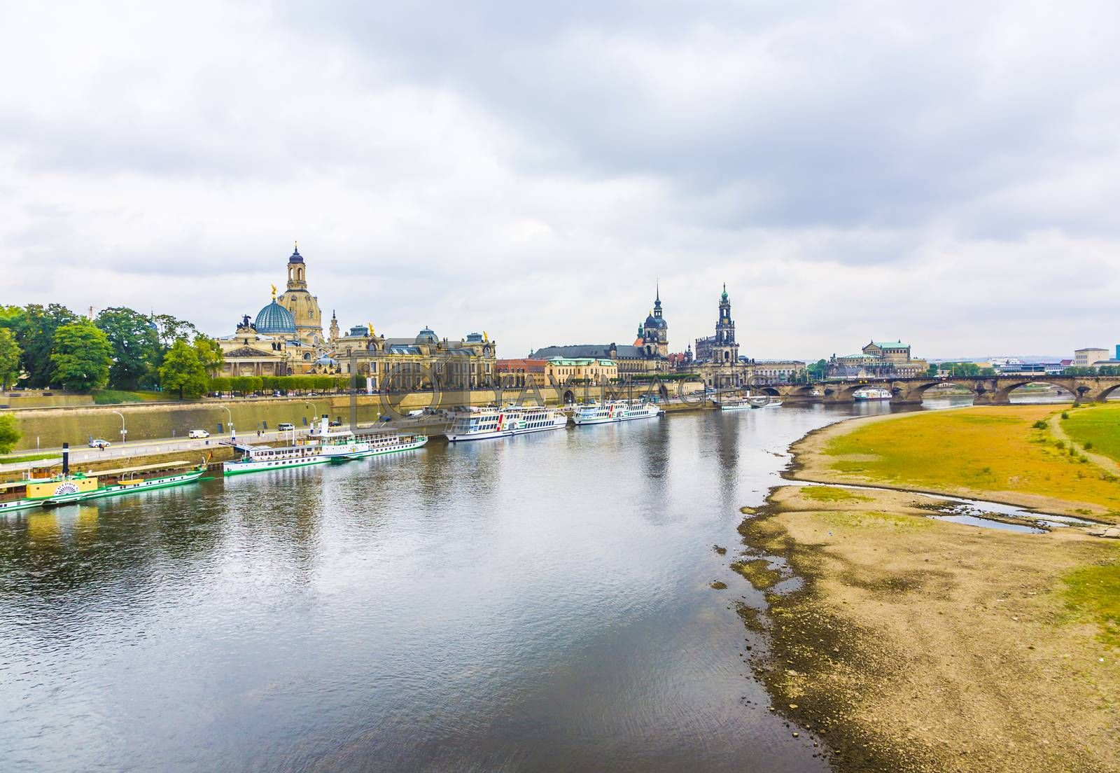 Royalty free image of Dresden is one of the most beautiful cities in Germany by meinzahn