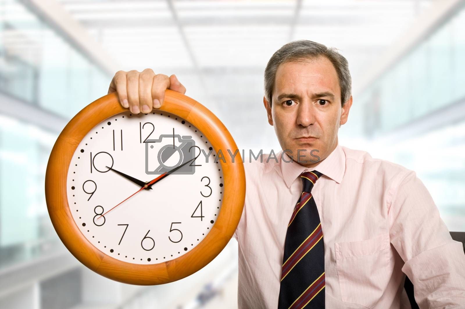 Royalty free image of clock by zittto