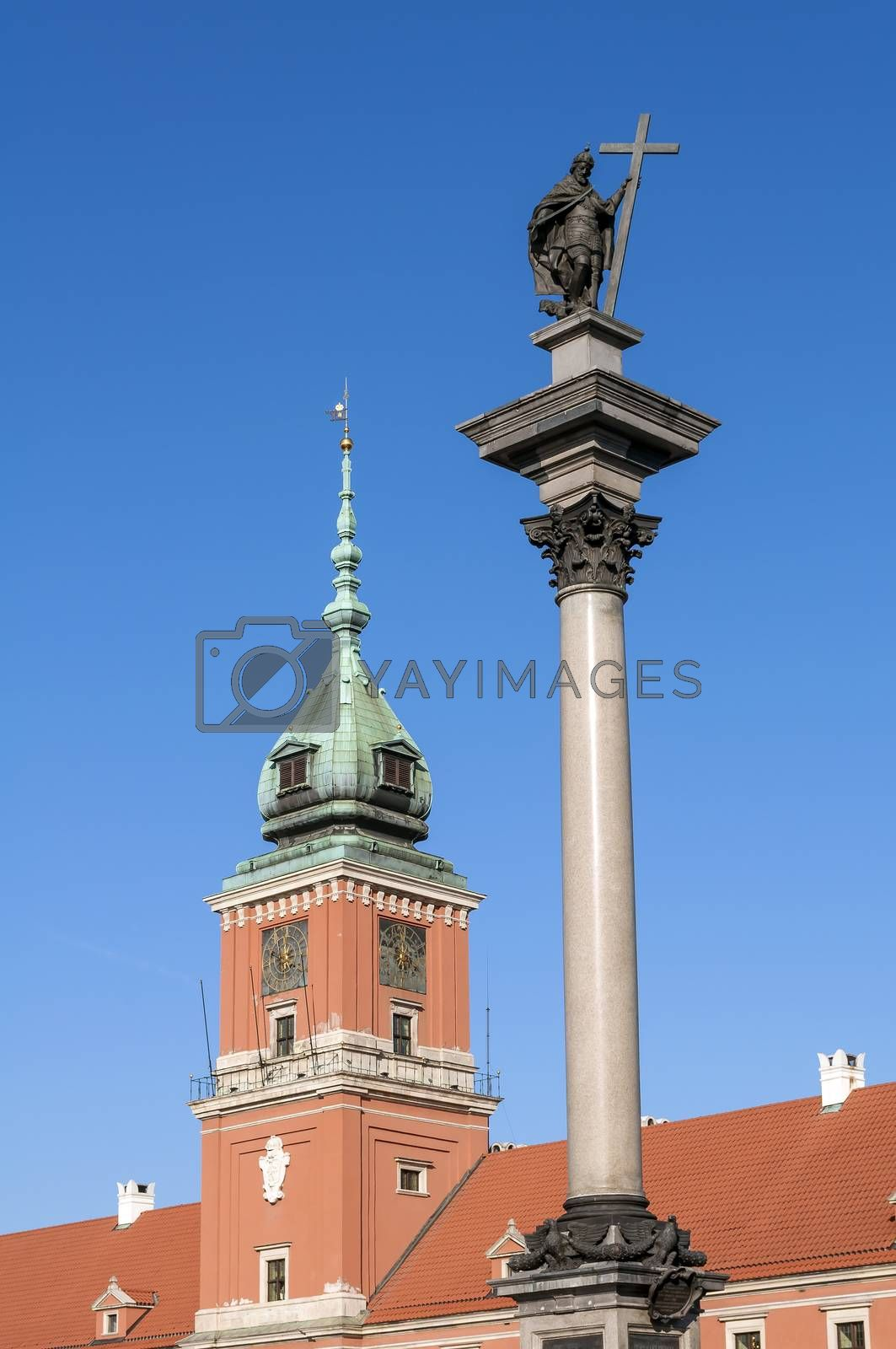 Royalty free image of Warsaw Royal Castle. by FER737NG