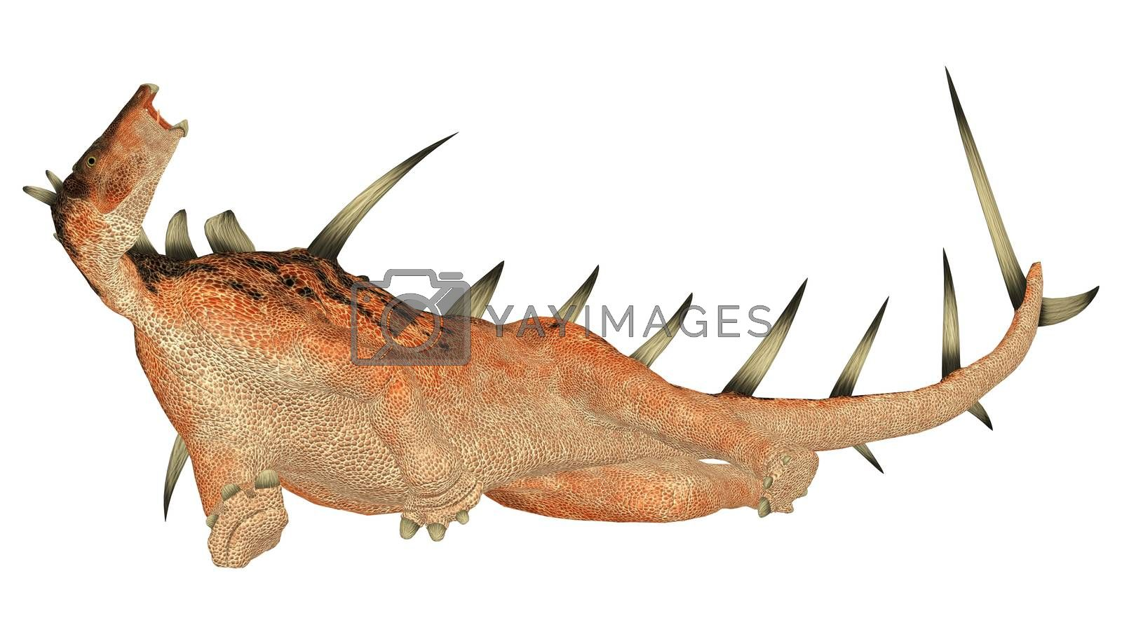 Royalty free image of Dinosaur Kentrosaurus by Vac