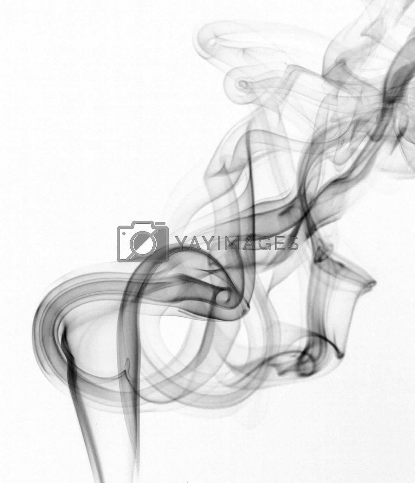 Royalty free image of Abstract smoke by Vagengeym