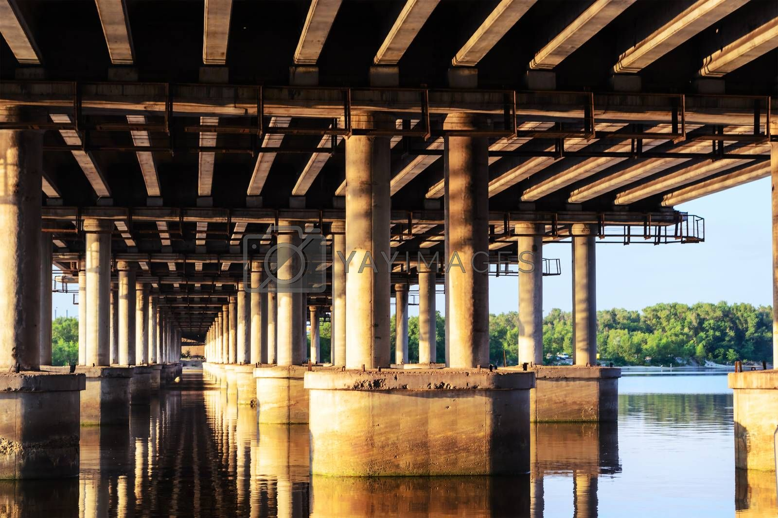 Royalty free image of Under a bridge by s96serg
