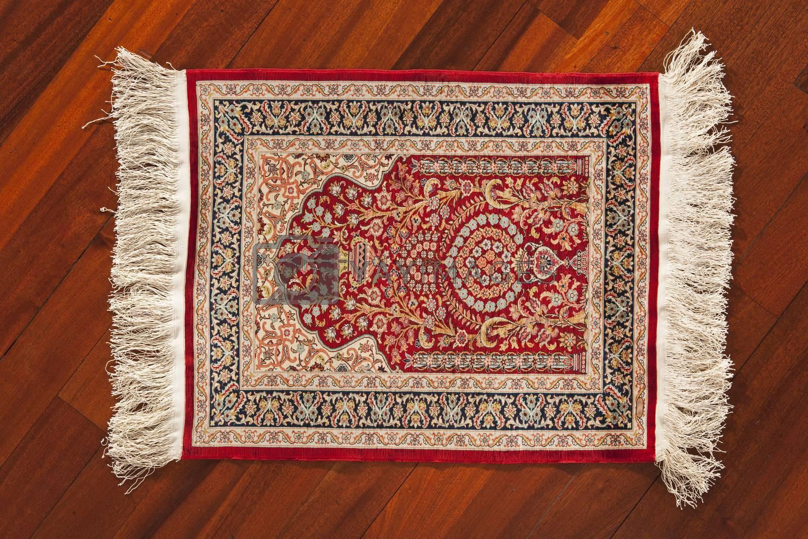 Royalty free image of turkish carpet by emirkoo