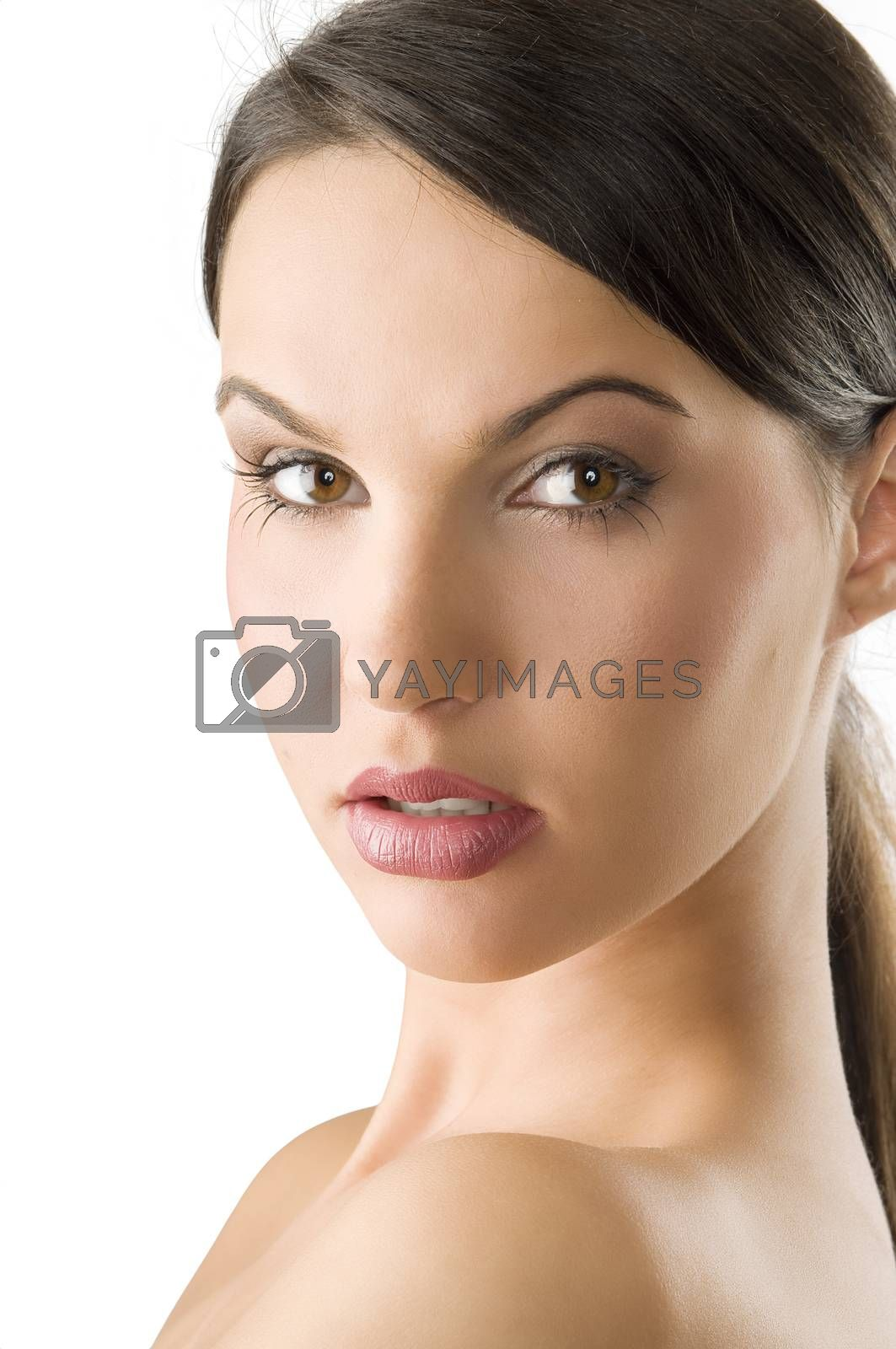 Royalty free image of almost perfect face by fotoCD