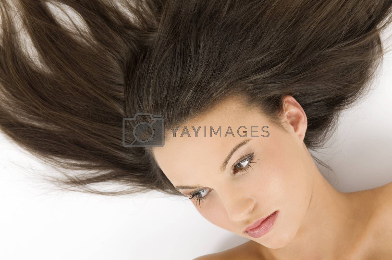 Royalty free image of hair by fotoCD