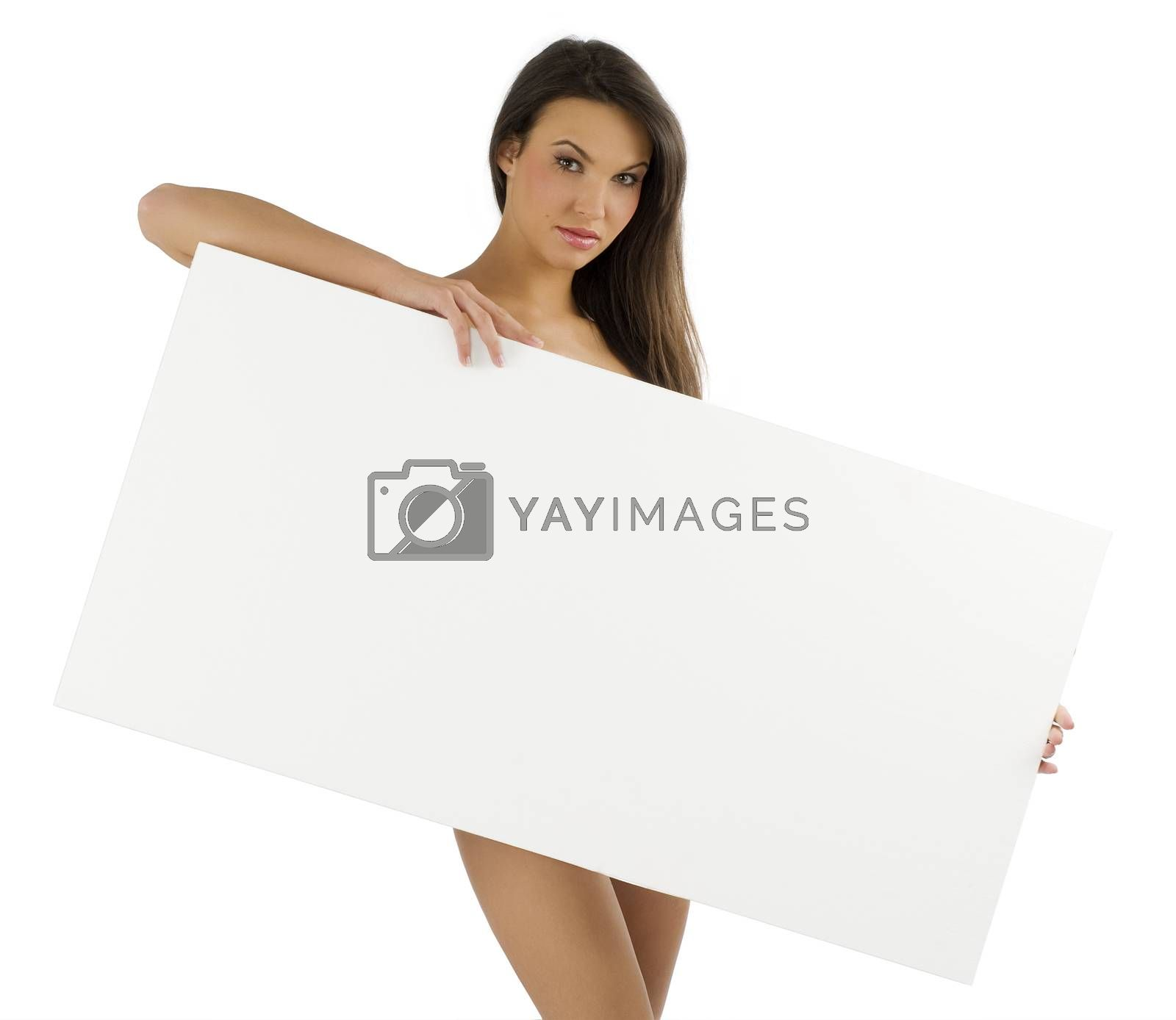 Royalty free image of display nude woman  by fotoCD