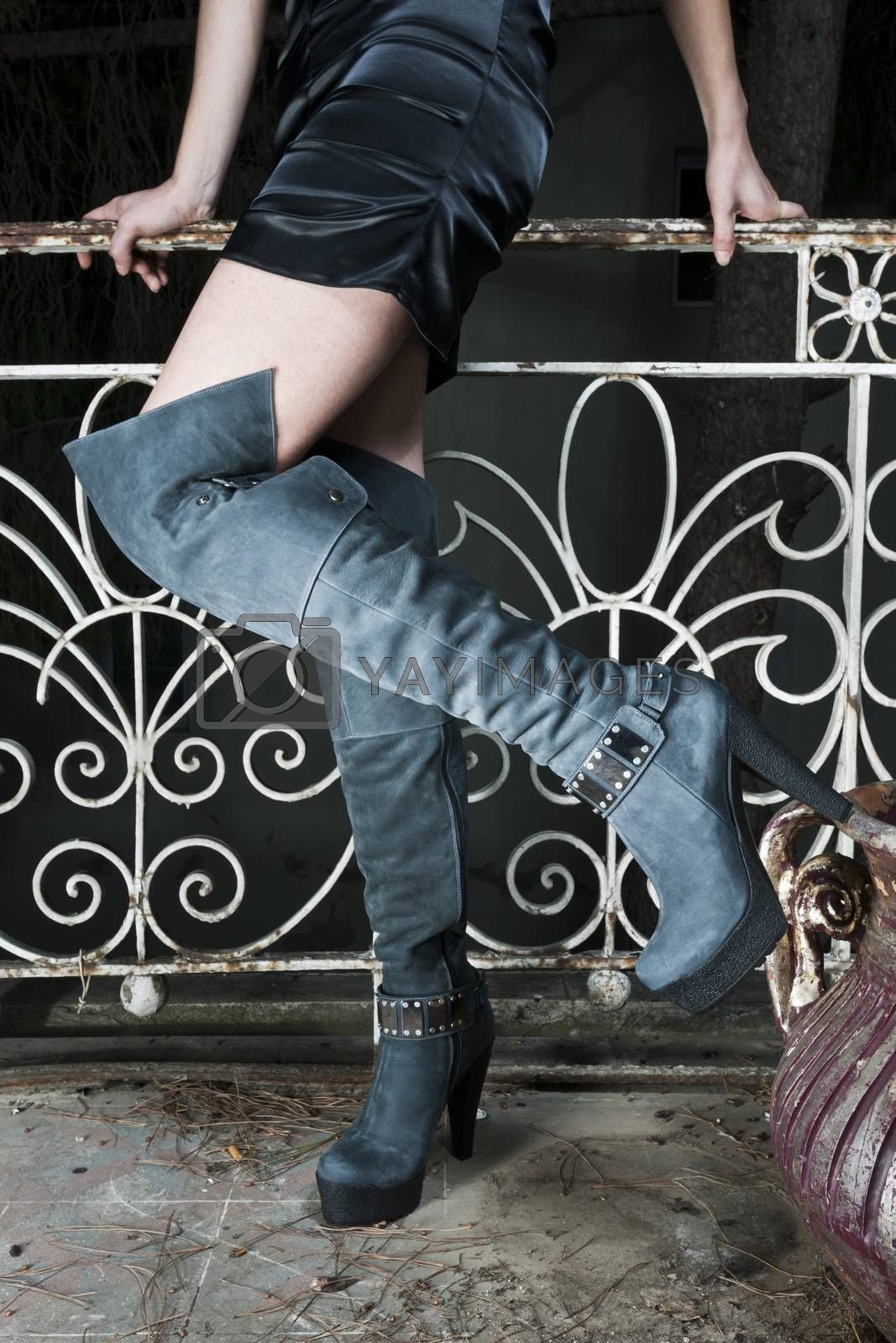 Royalty free image of women's boots by emirkoo