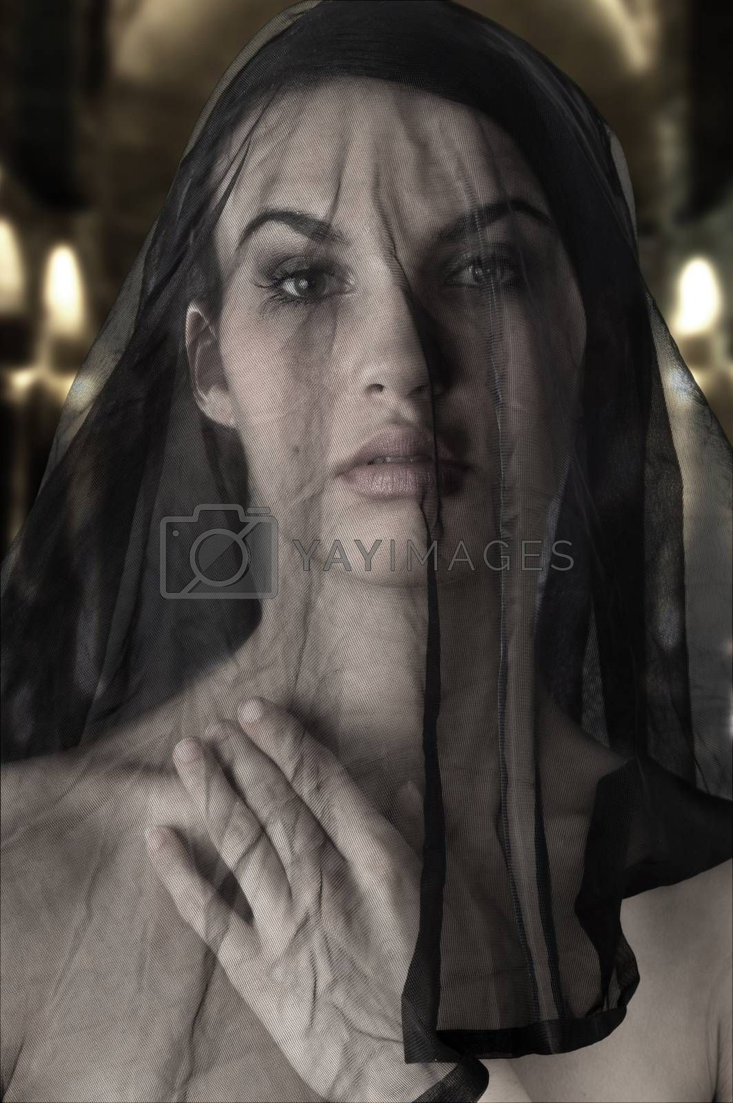 Royalty free image of the black wife by fotoCD