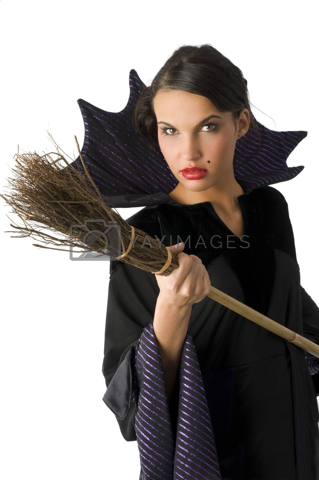 Royalty free image of hanging witch by fotoCD
