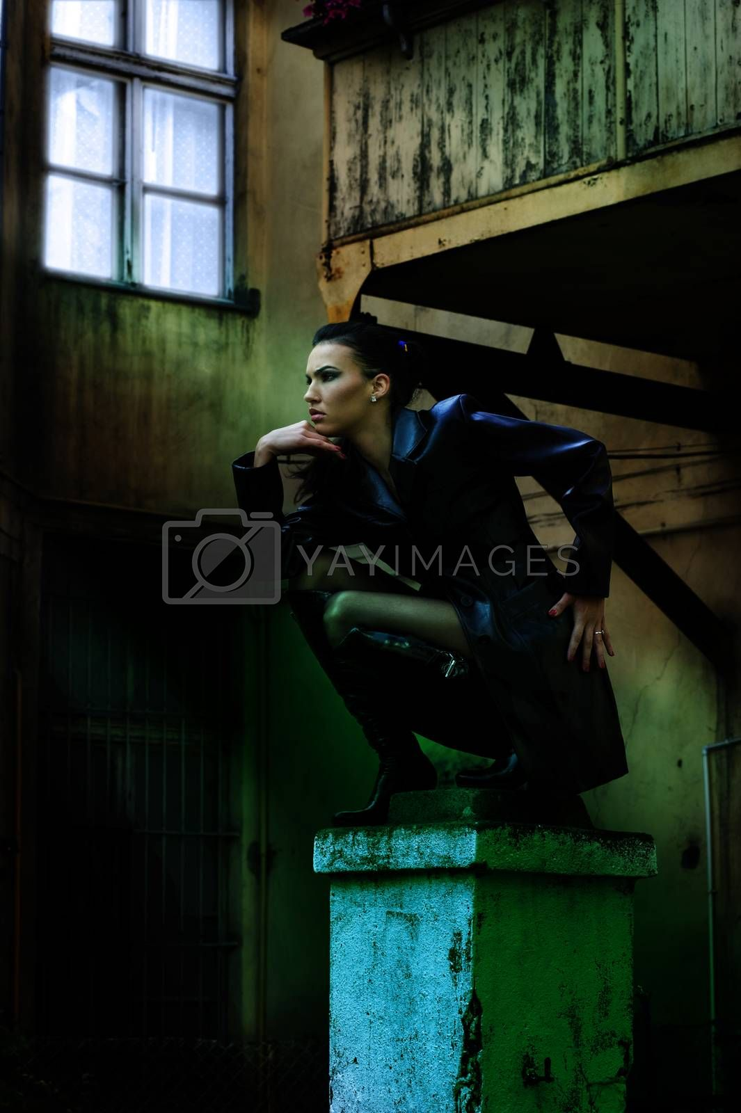 Royalty free image of the vampire by fotoCD