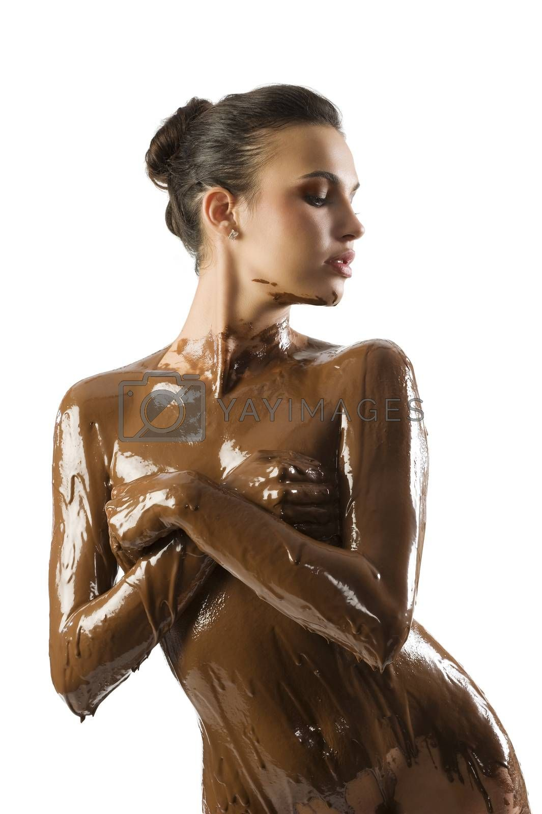 the chocolate girl by fotoCD