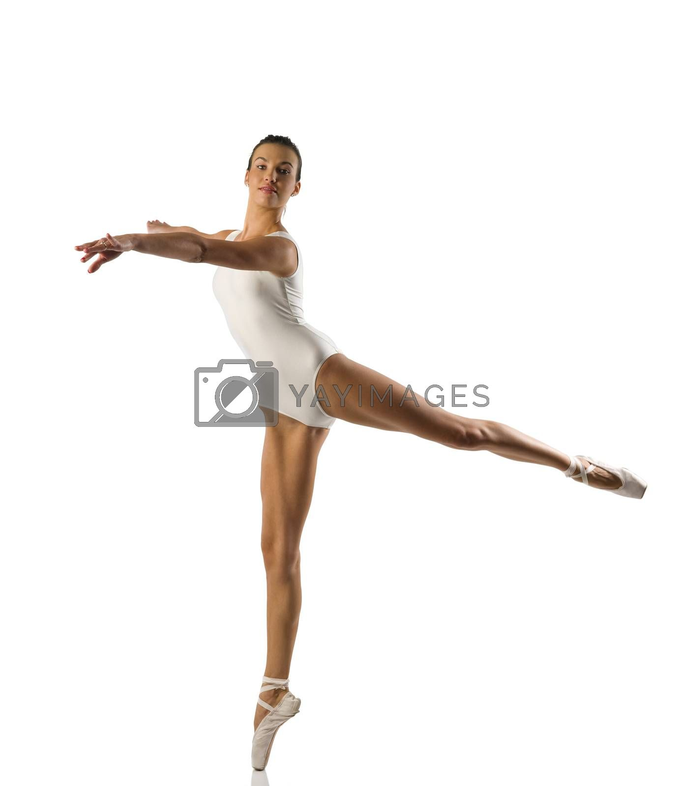 Royalty free image of the ballerina by fotoCD