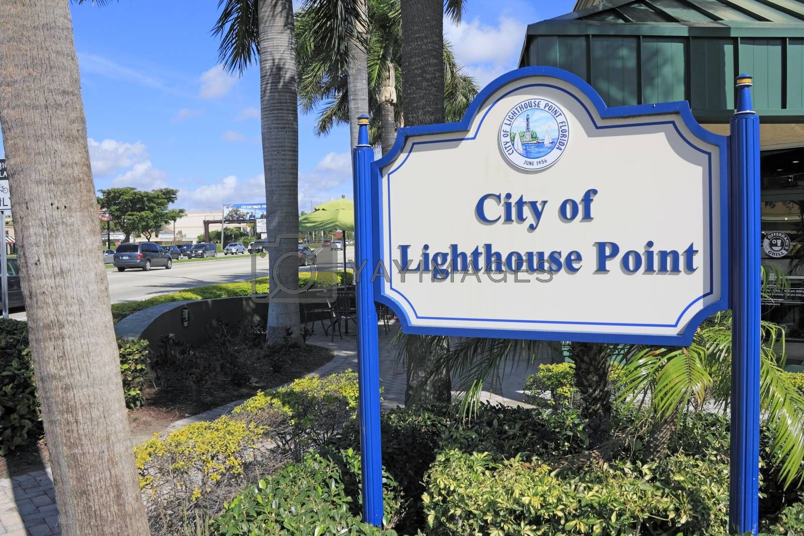 Royalty free image of City of Lighthouse Point by Serenethos