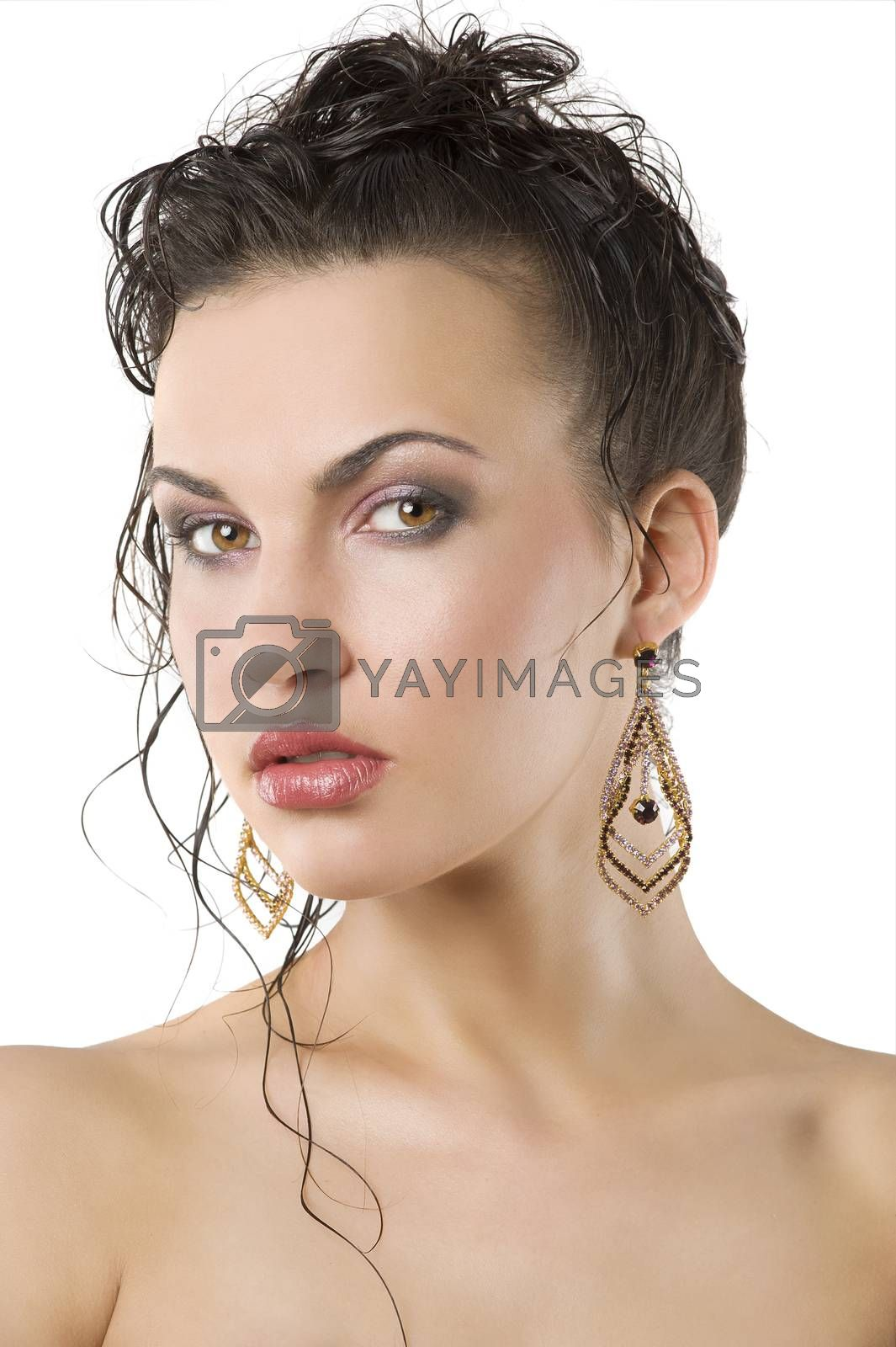 Royalty free image of the beauty portrait by fotoCD