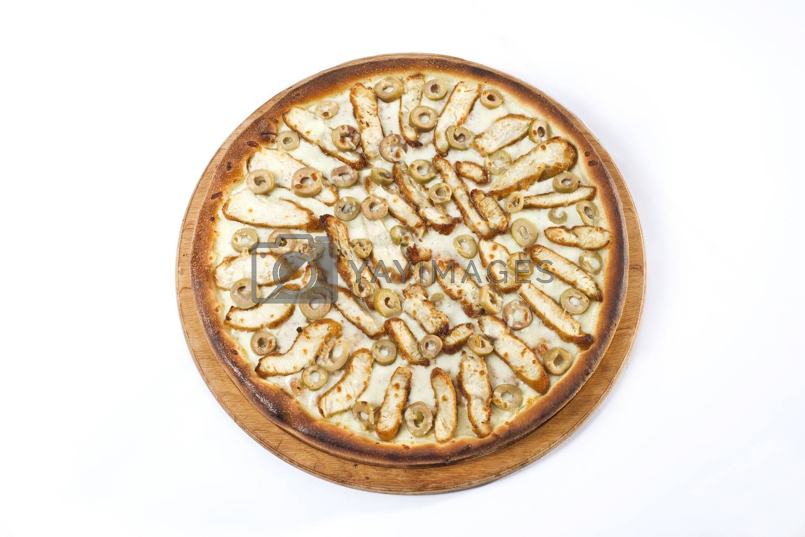 Royalty free image of pizza by emirkoo