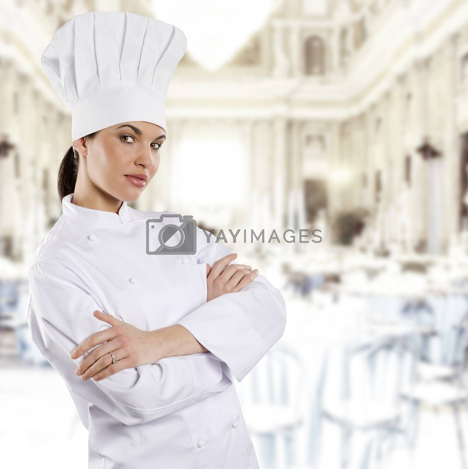 Royalty free image of the chef by fotoCD