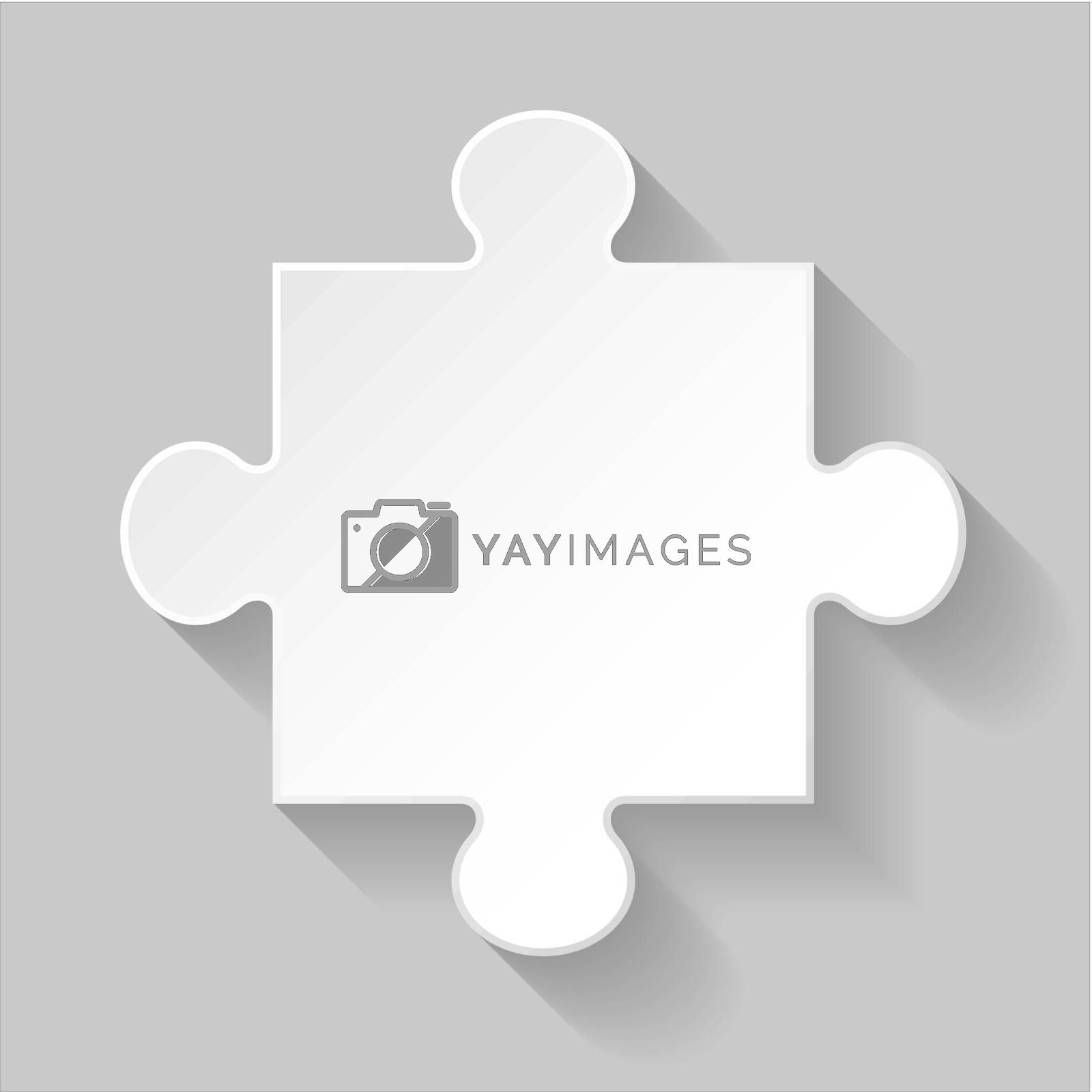 Royalty free image of Puzzle piece by dvarg