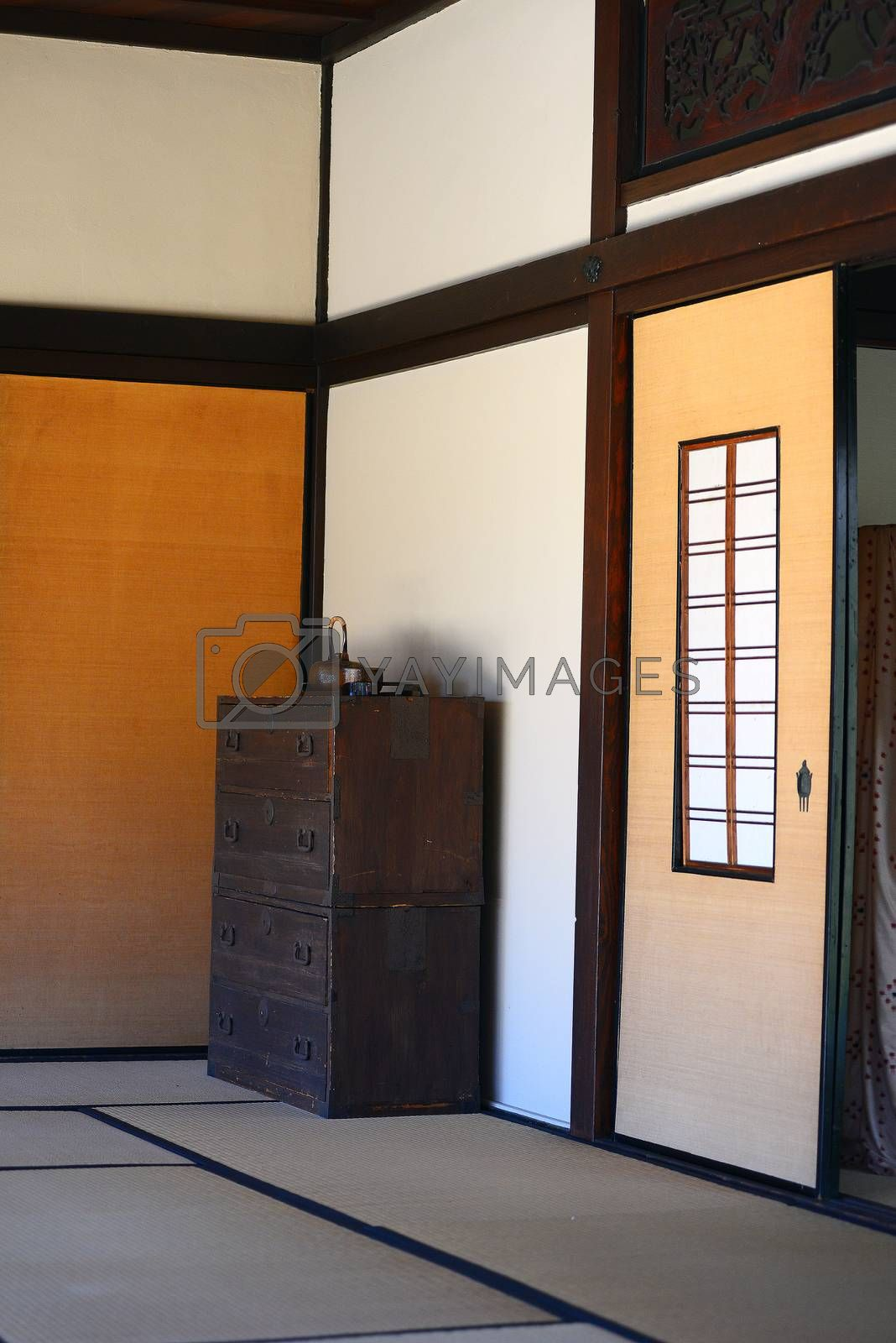 Royalty free image of japanese house  by porbital