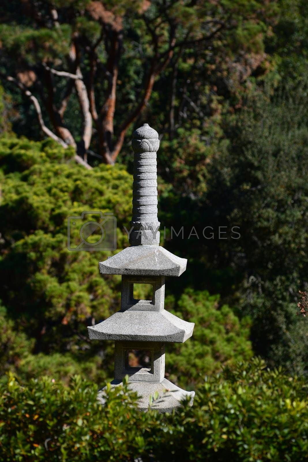 Royalty free image of japanese stone garden by porbital