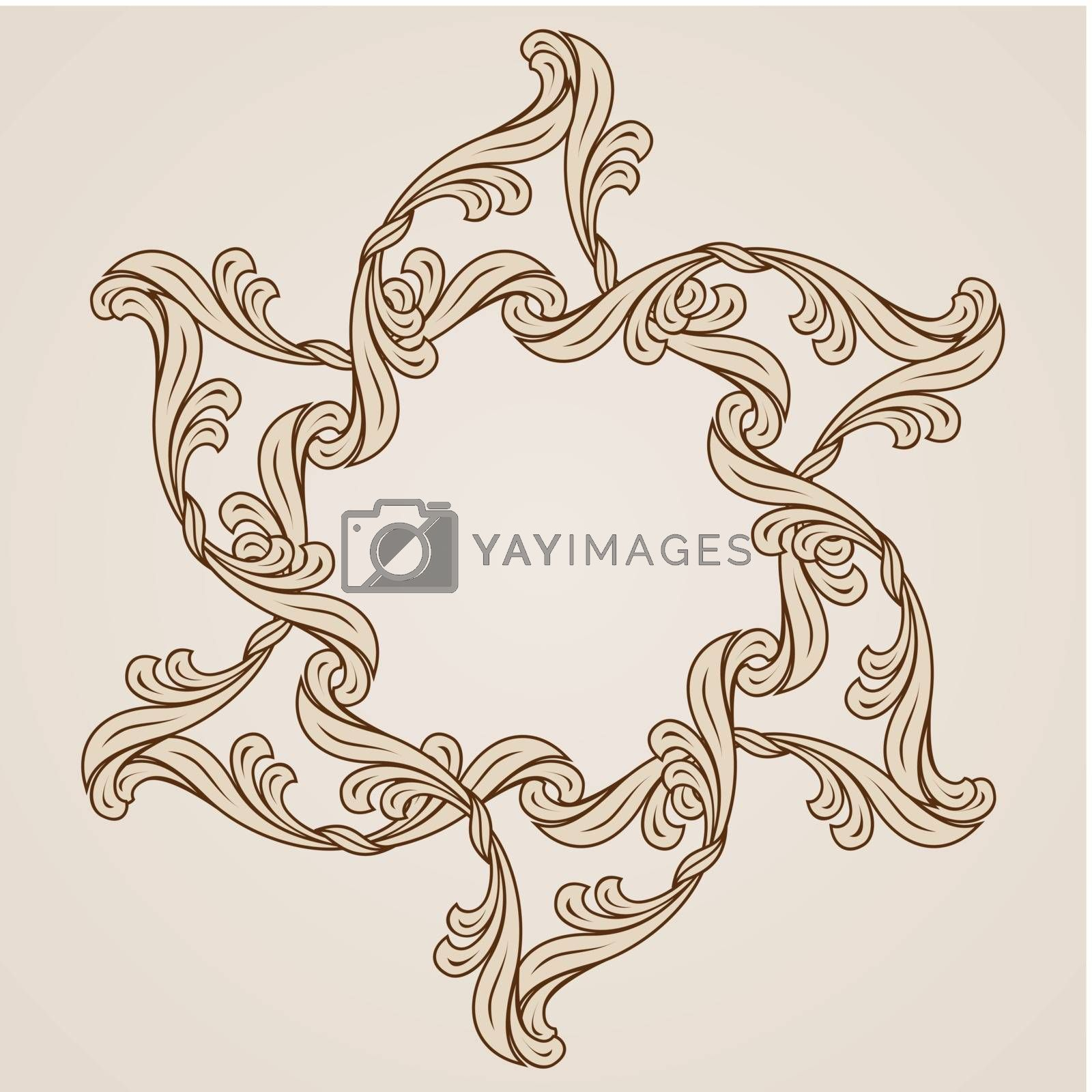 Royalty free image of Floral pattern by dvarg