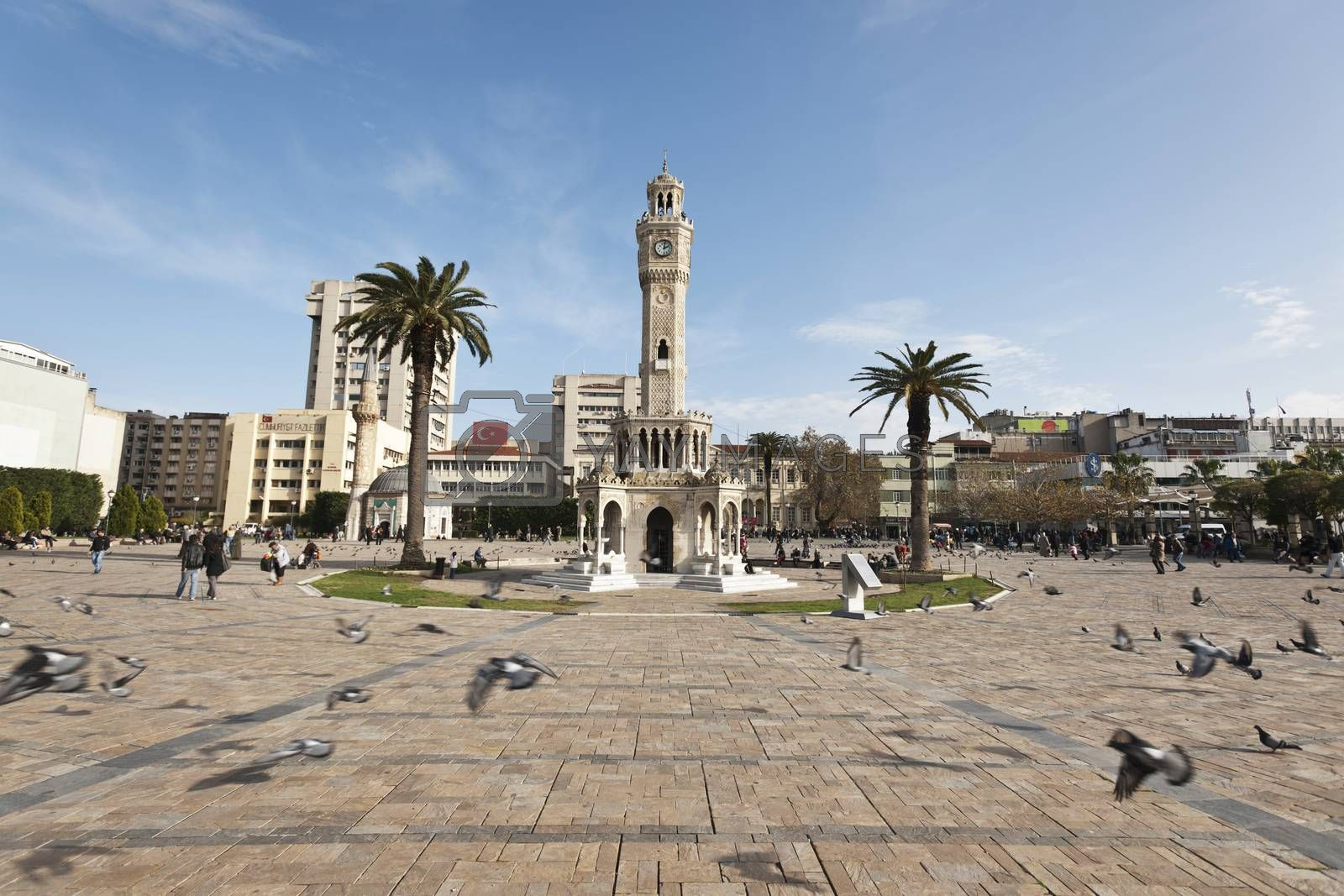 Royalty free image of izmir clock tower by emirkoo