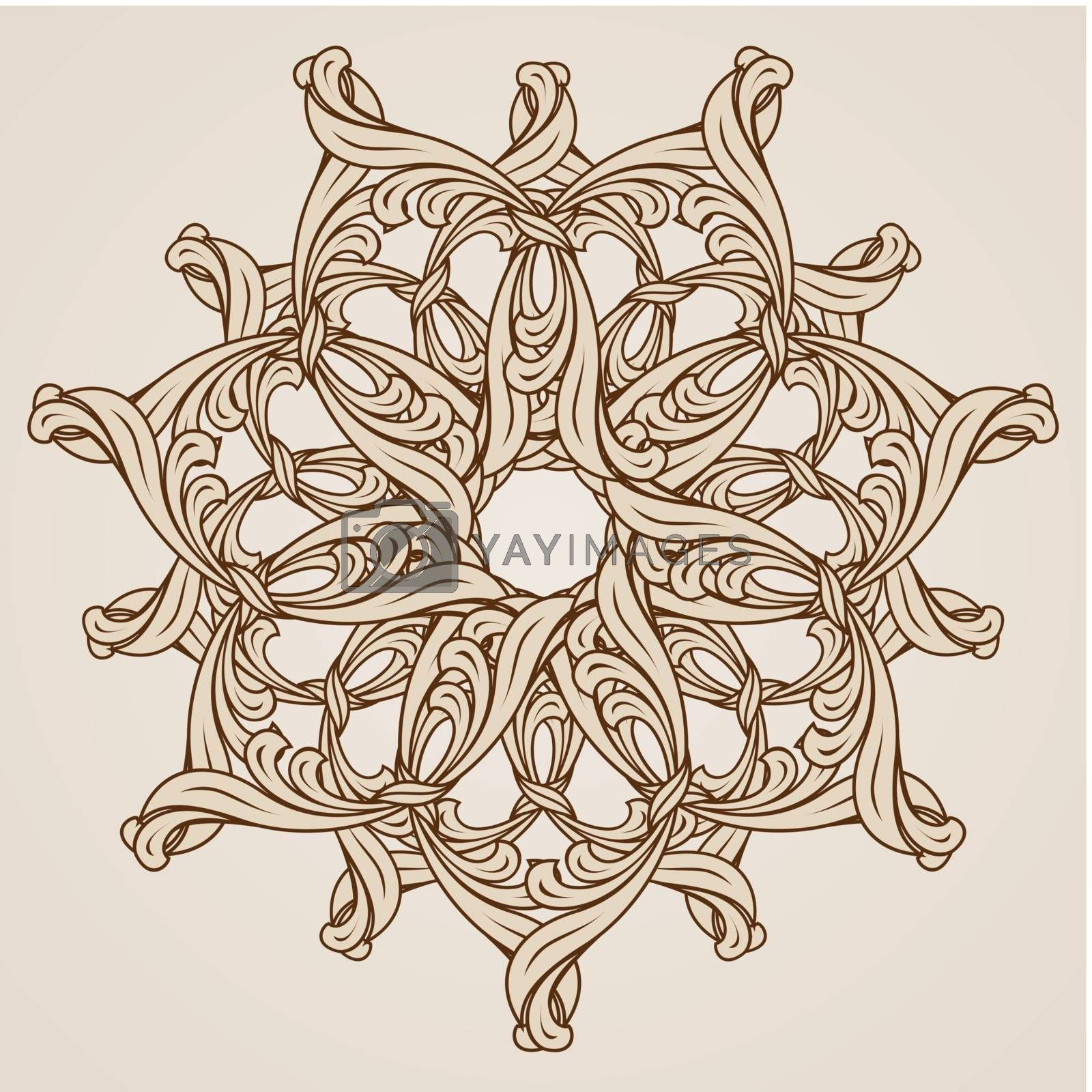 Floral pattern by dvarg