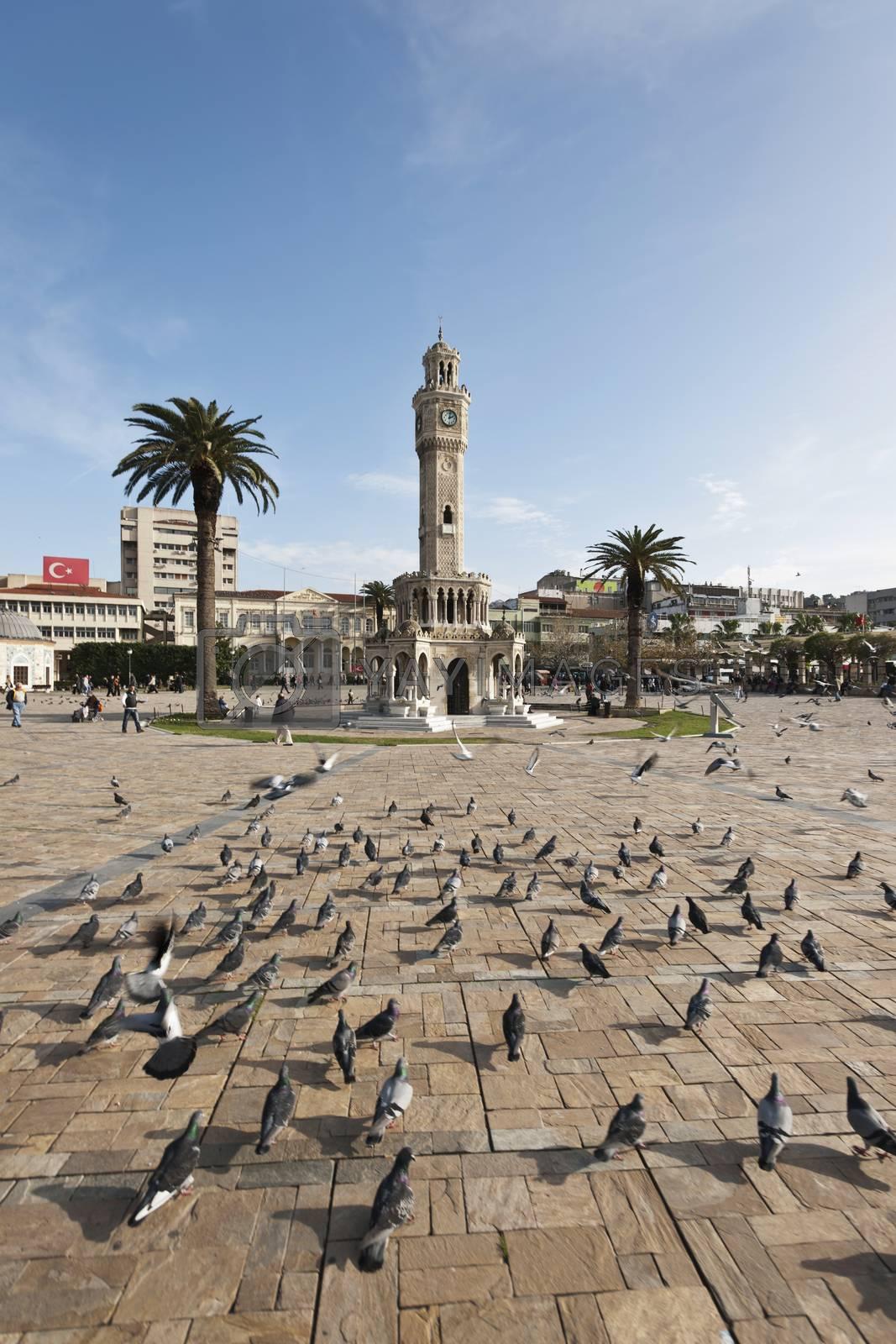 izmir clock tower by emirkoo