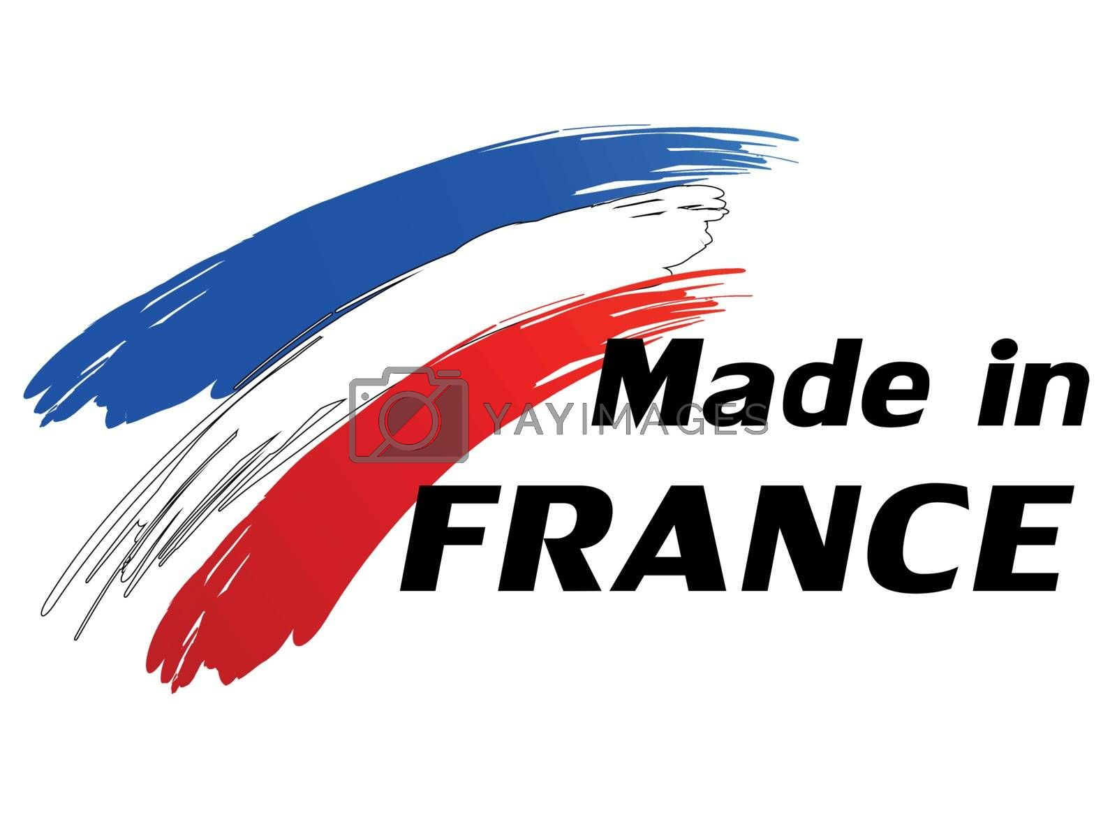 Royalty free image of Made in france by nickylarson974
