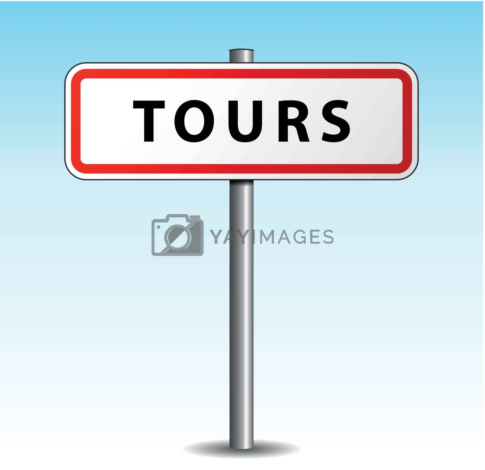Royalty free image of Vector tours signpost by nickylarson974