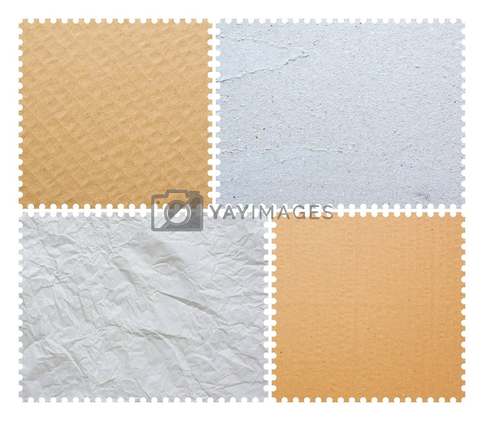 Royalty free image of Stamp Borders isolated by myyaym