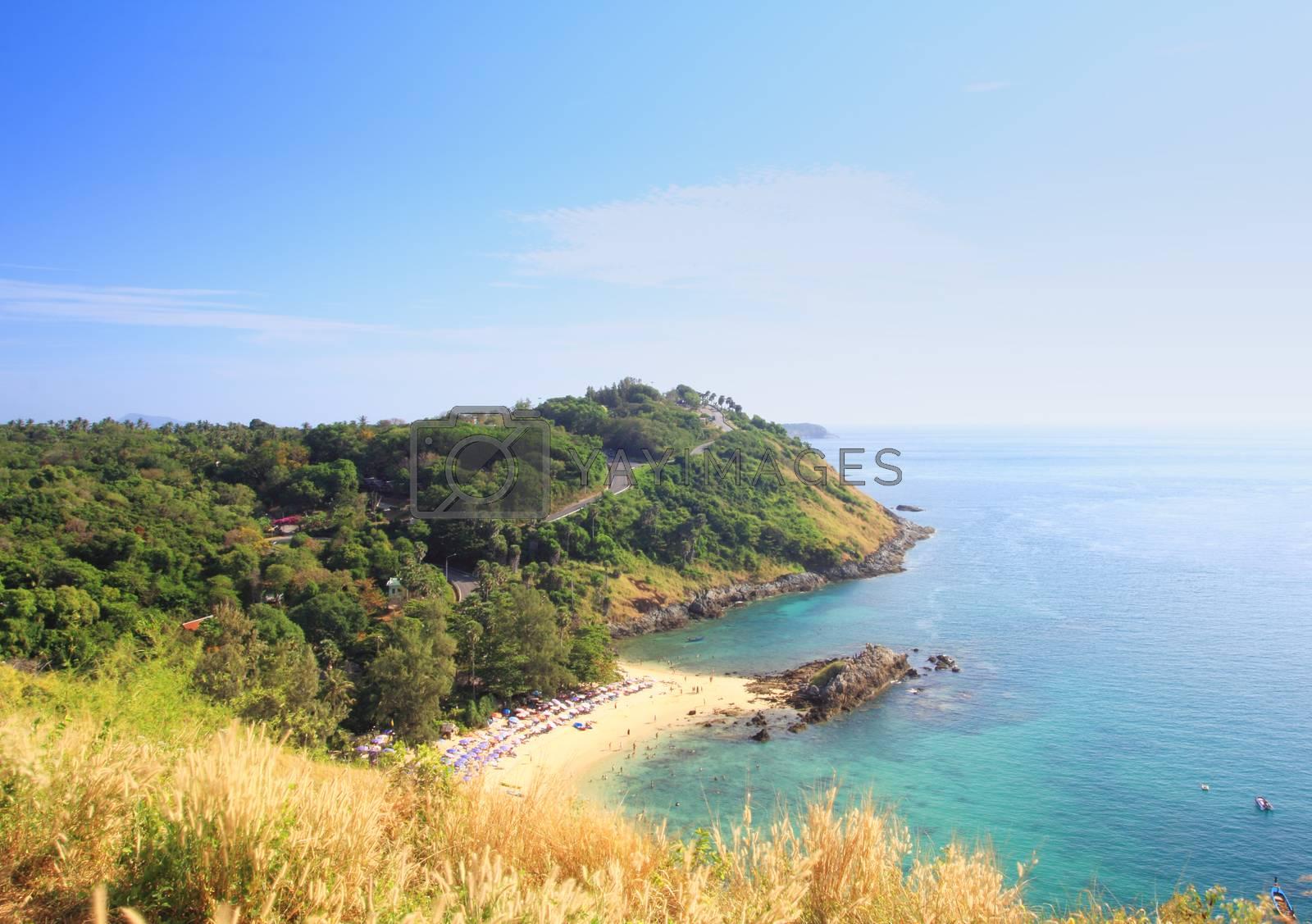Royalty free image of View point at Phuket by wyoosumran