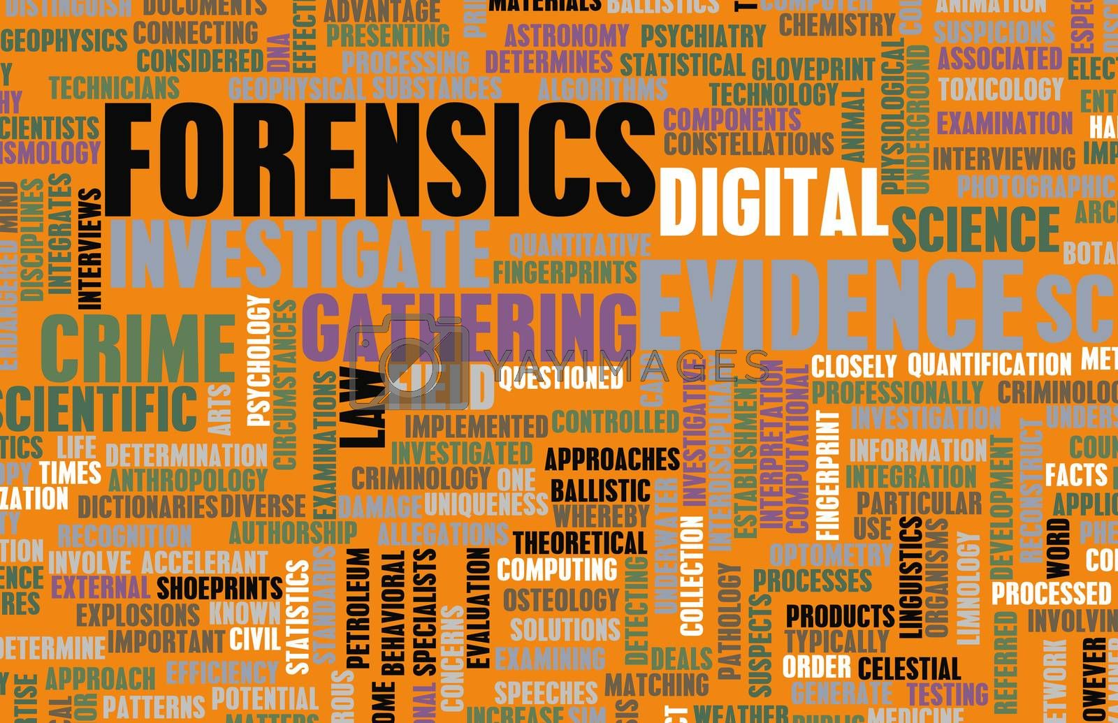 Royalty free image of Forensics by kentoh