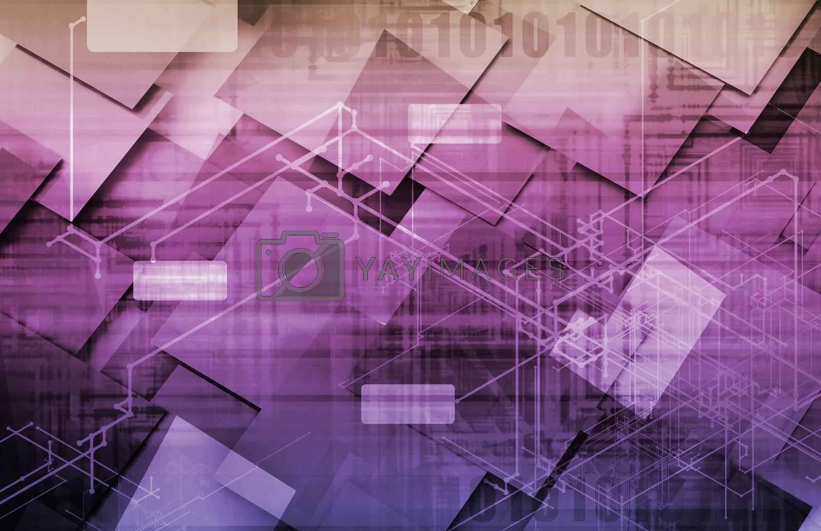 Royalty free image of Strategic Management by kentoh