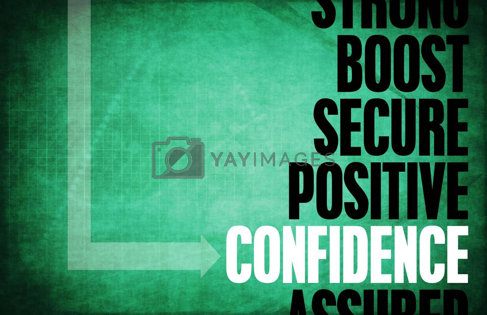 Royalty free image of Confidence by kentoh