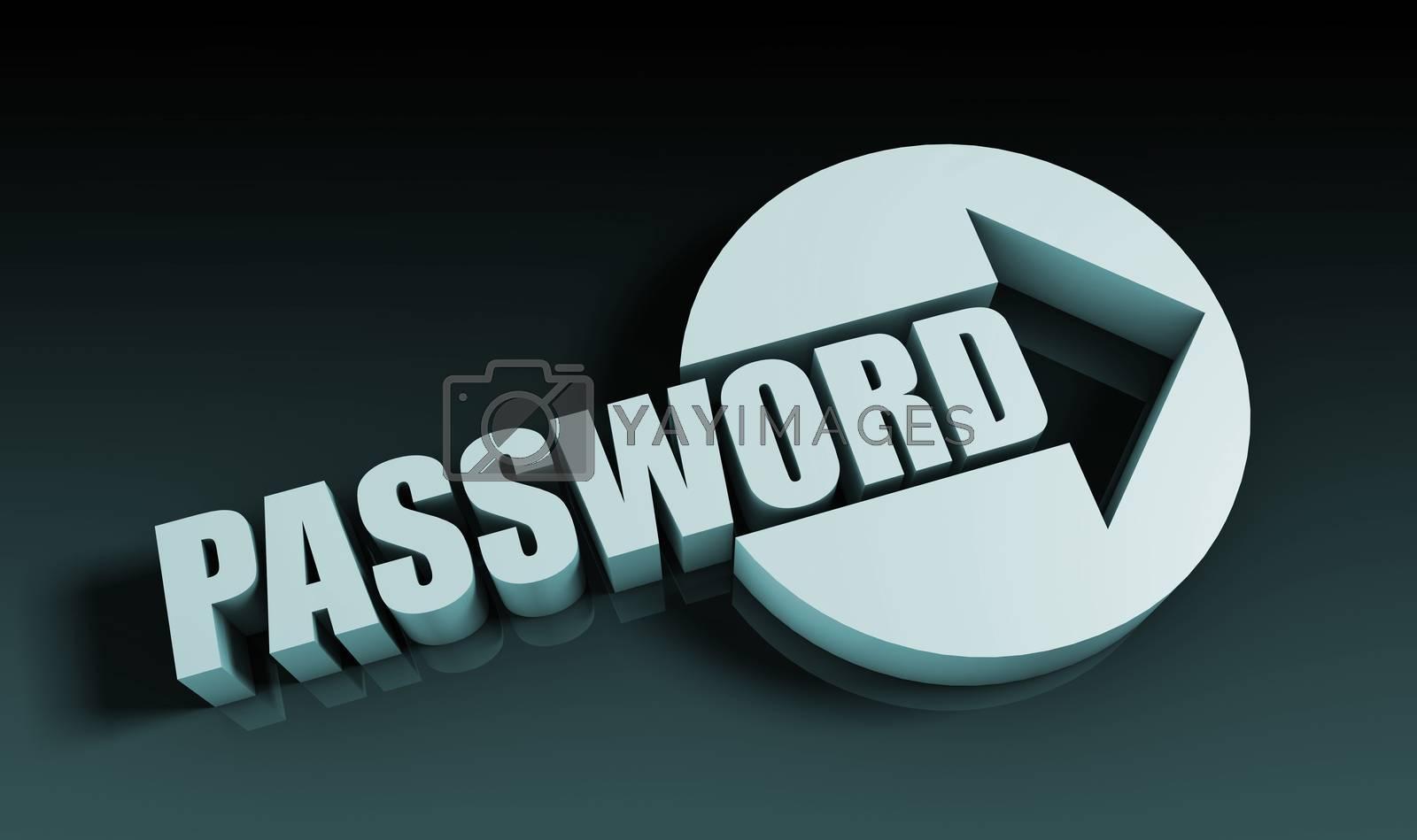 Royalty free image of Password by kentoh