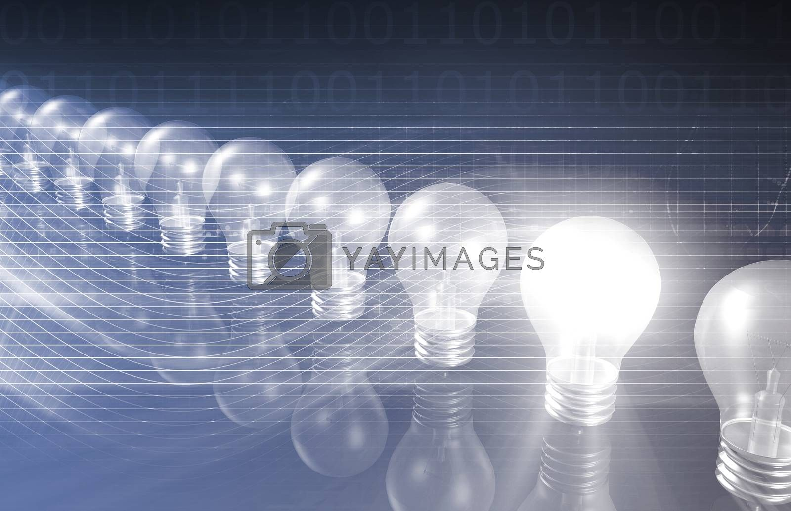 Royalty free image of Innovation Business Concept by kentoh