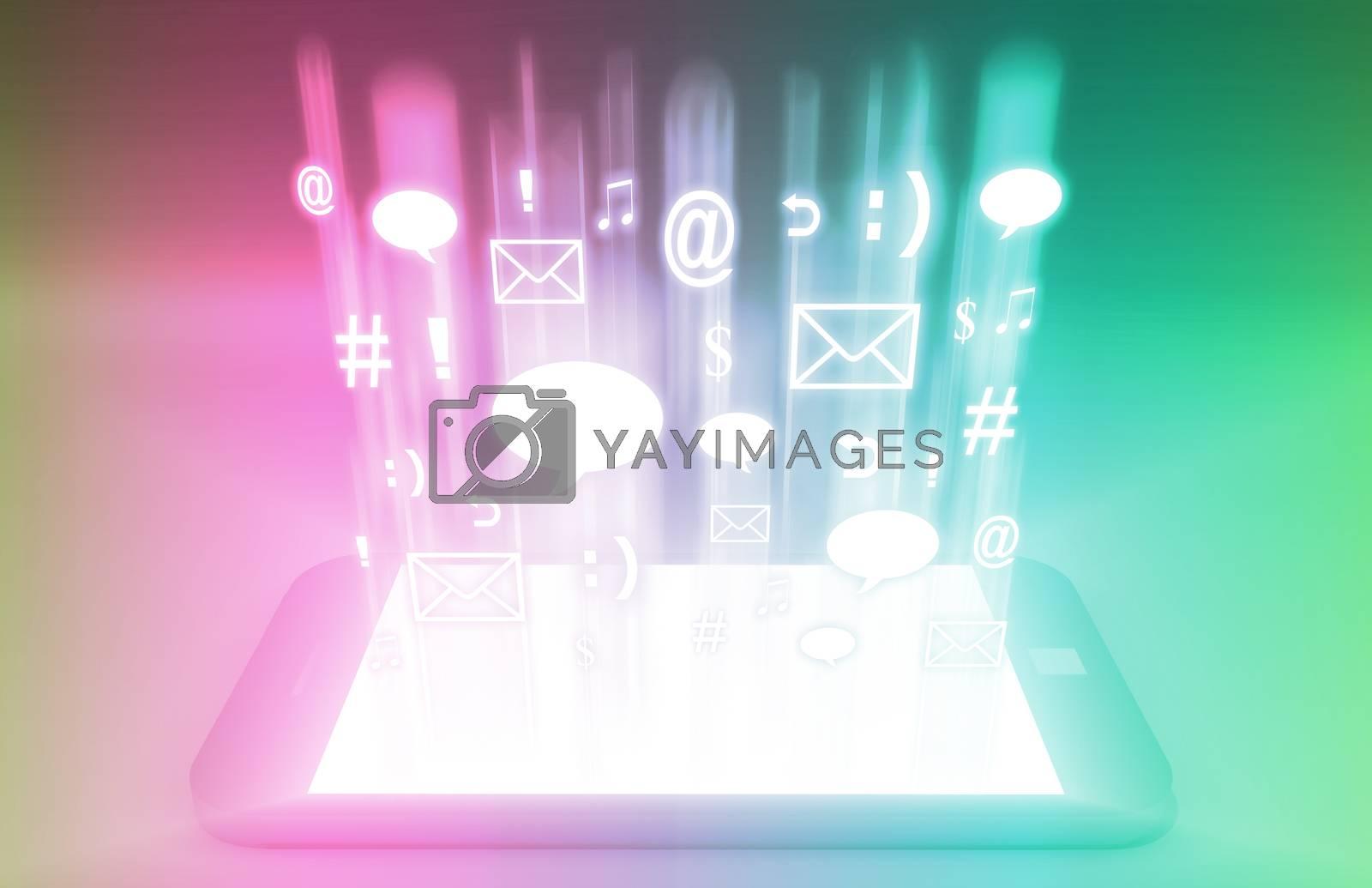 Royalty free image of Social Media by kentoh